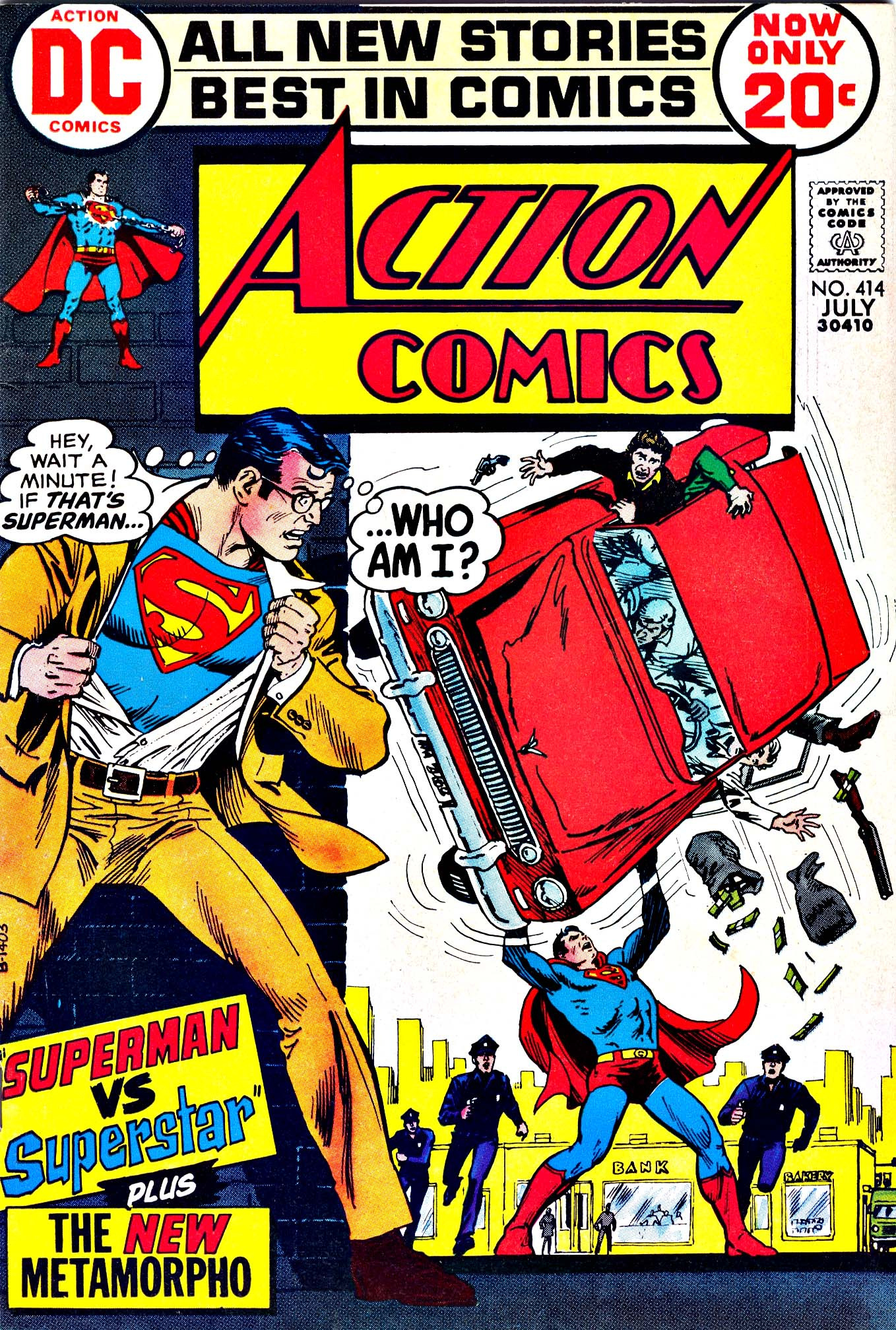 Read online Action Comics (1938) comic -  Issue #414 - 1