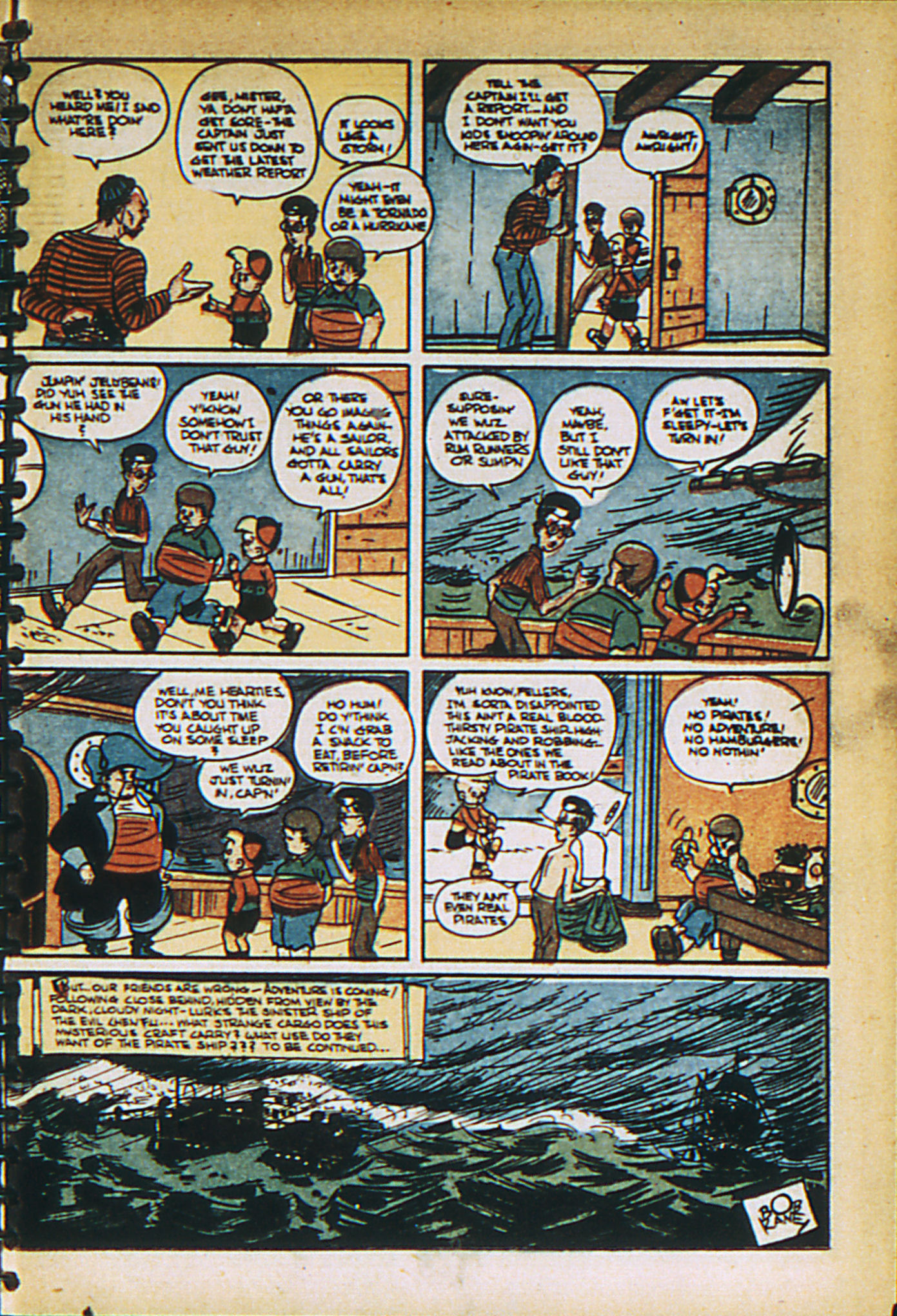 Read online Adventure Comics (1938) comic -  Issue #27 - 19