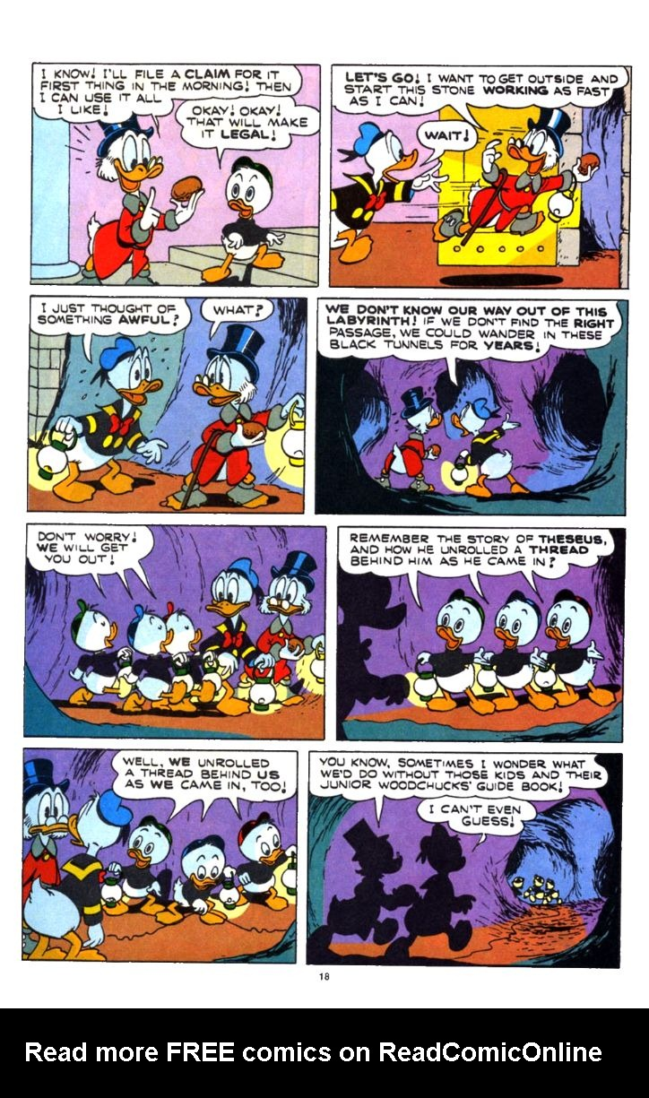 Read online Uncle Scrooge (1953) comic -  Issue #253 - 18
