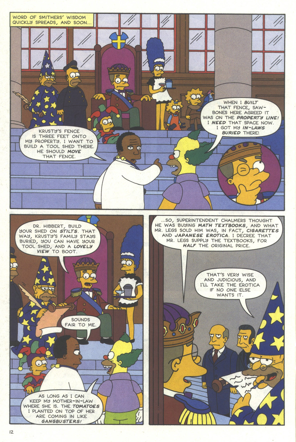 Read online Simpsons Comics comic -  Issue #56 - 13