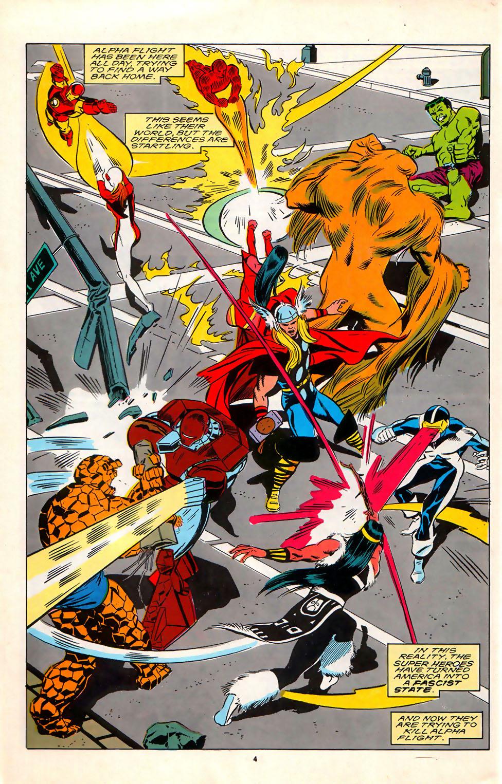 Read online Alpha Flight (1983) comic -  Issue #75 - 6