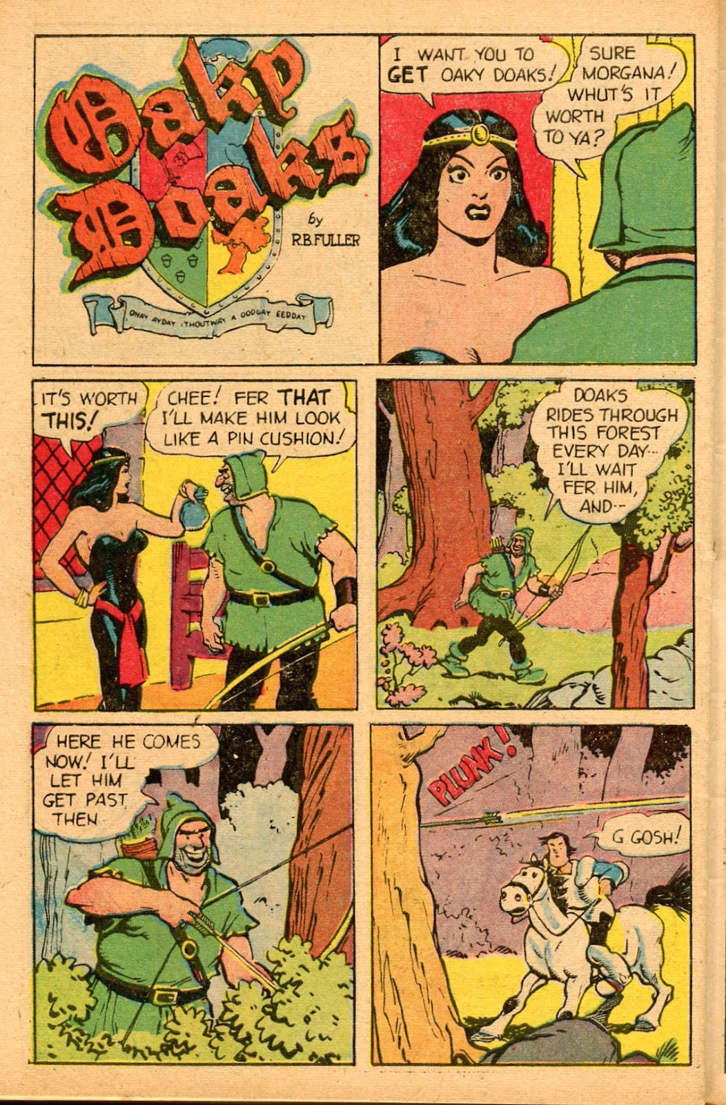 Read online Famous Funnies comic -  Issue #155 - 44