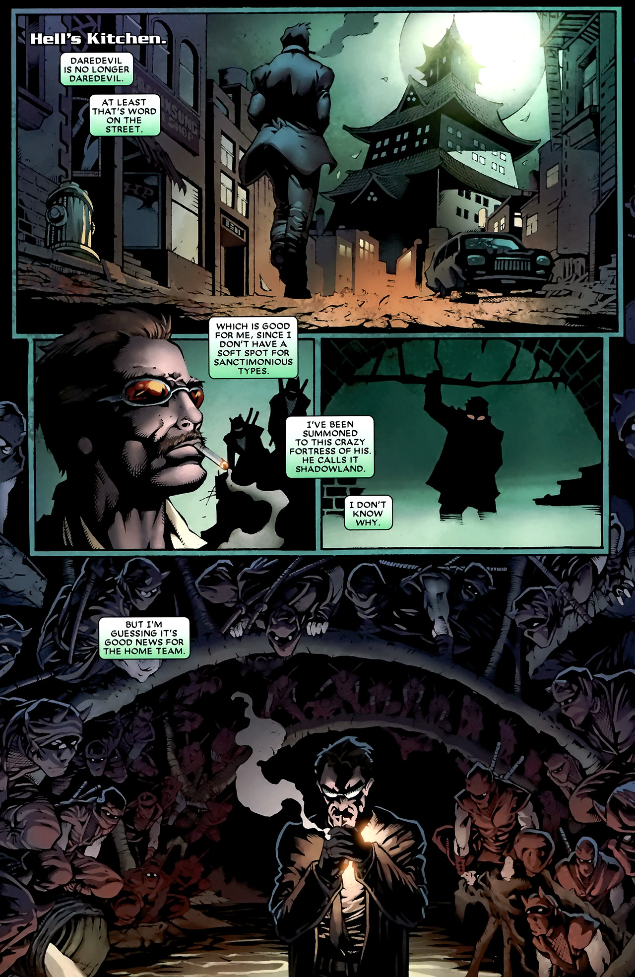Read online Shadowland: Moon Knight comic -  Issue #1 - 8