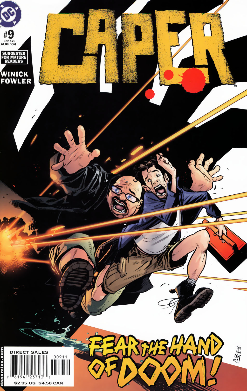 Read online Caper comic -  Issue #9 - 1