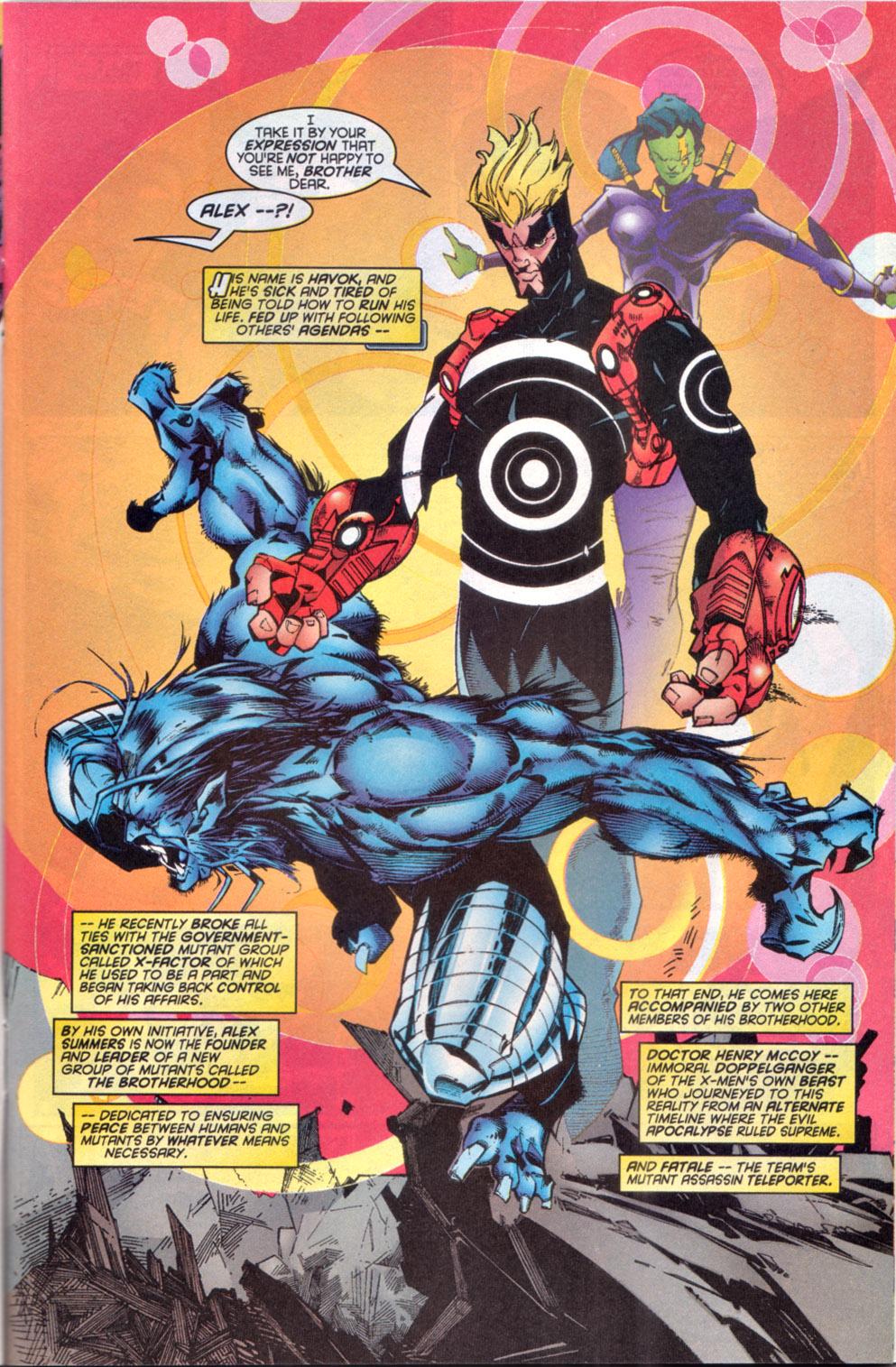 Read online Uncanny X-Men (1963) comic -  Issue # _Annual 1997 - 13