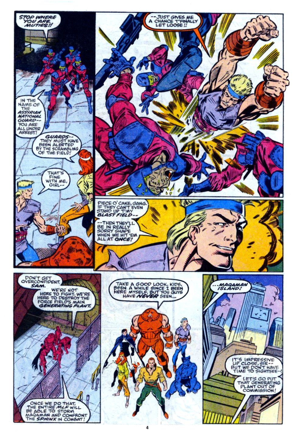 The New Warriors Issue #12 #16 - English 5