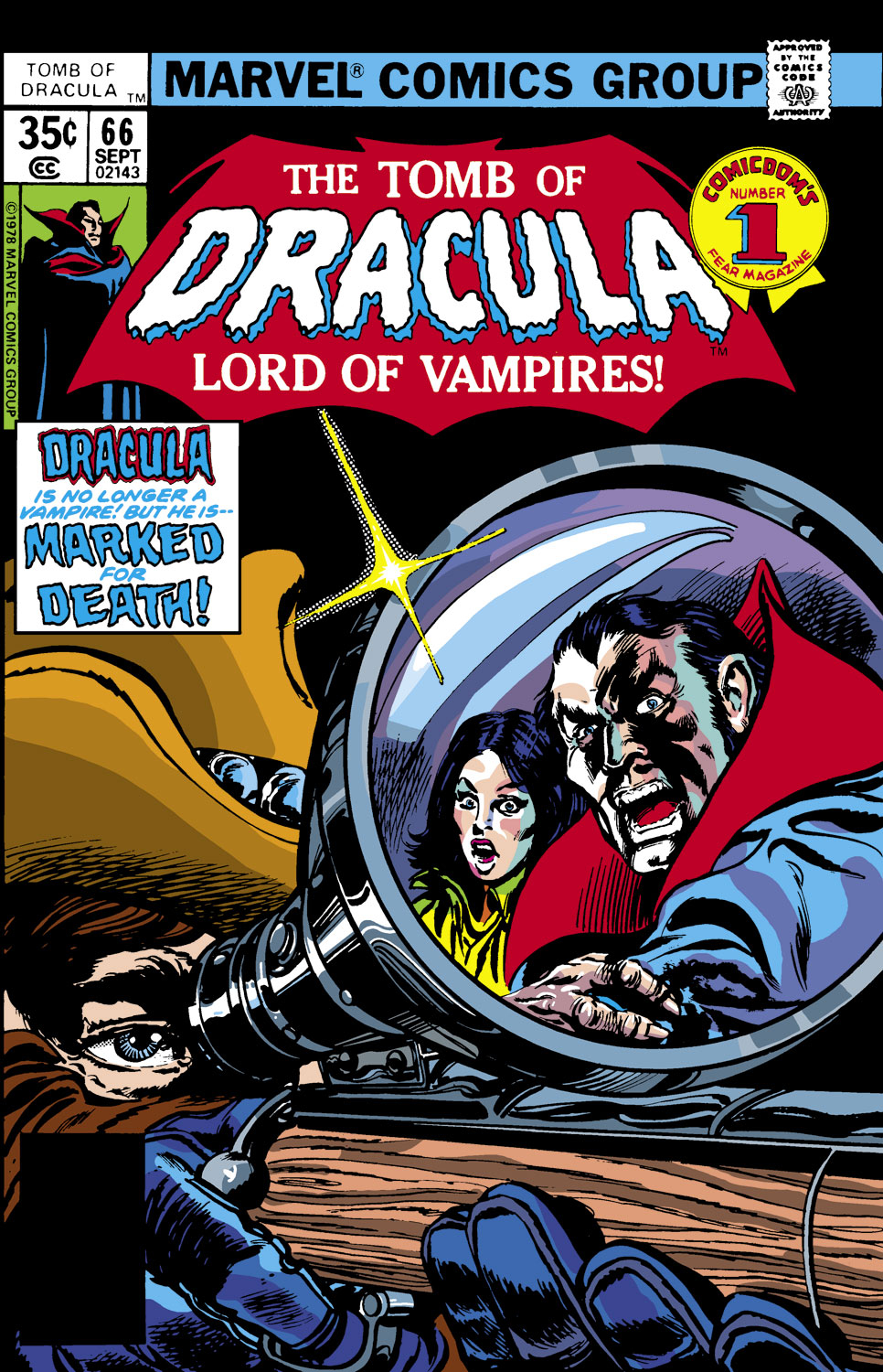 Tomb of Dracula (1972) issue 66 - Page 1
