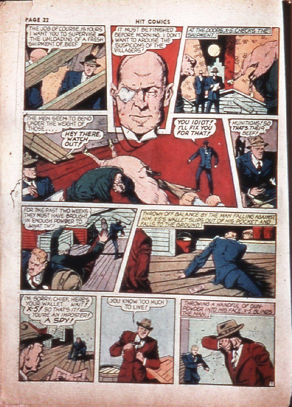 Read online Hit Comics comic -  Issue #4 - 24