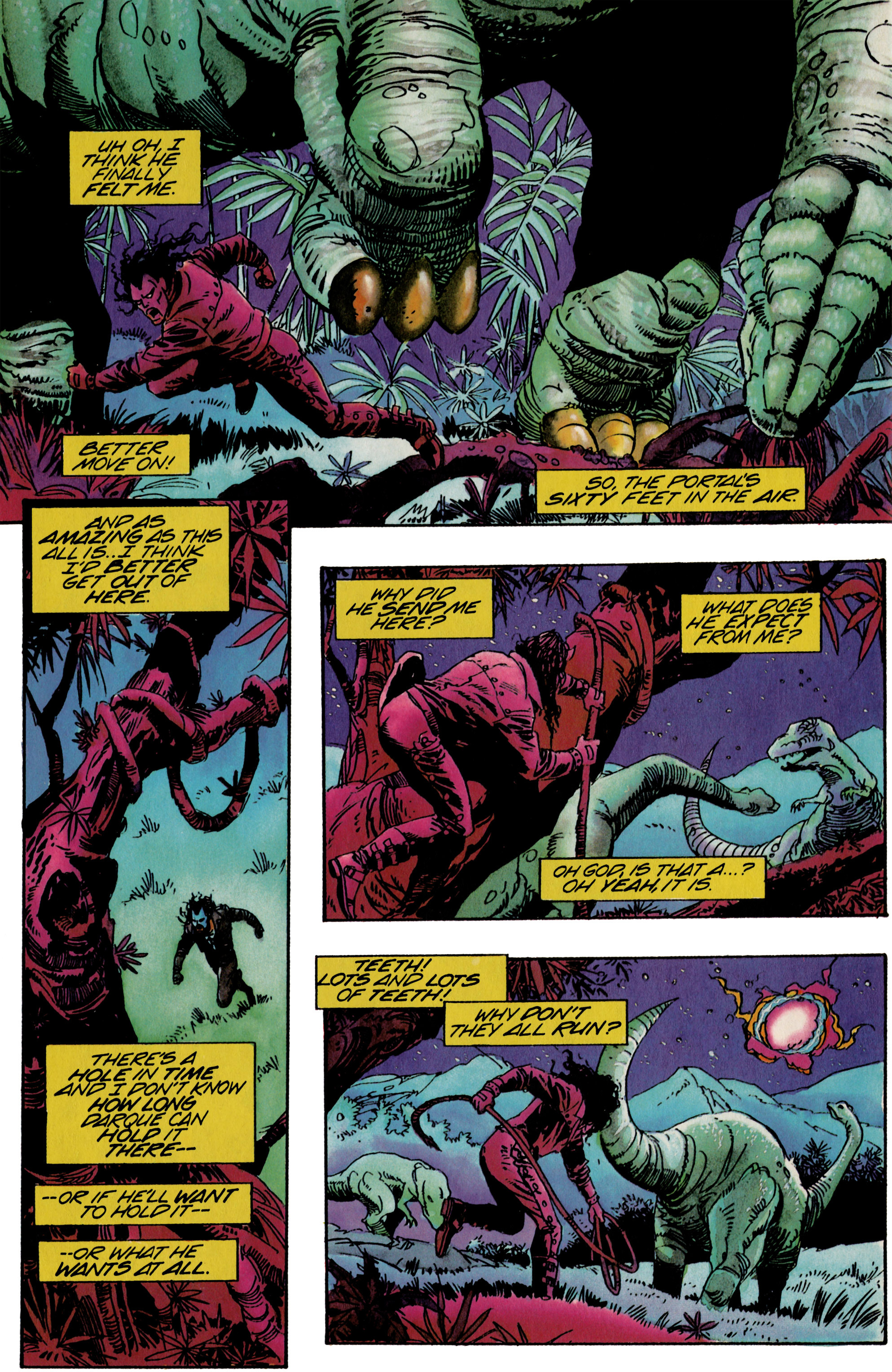 Read online Shadowman (1992) comic -  Issue #21 - 8