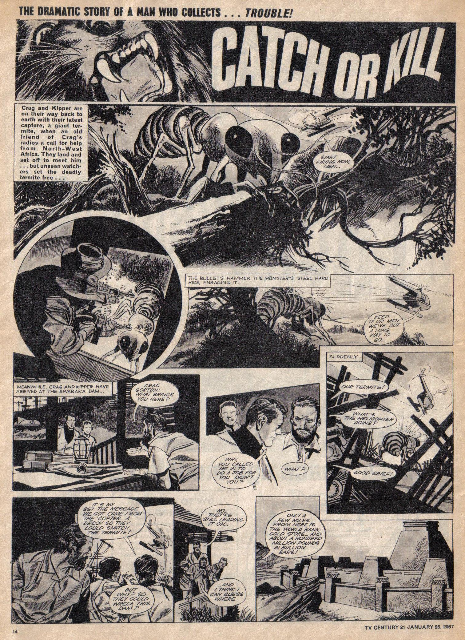 Read online TV Century 21 (TV 21) comic -  Issue #106 - 13