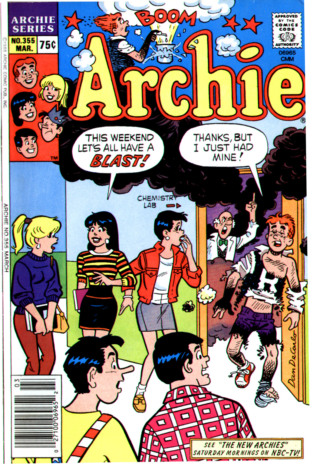 Read online Archie (1960) comic -  Issue #355 - 1