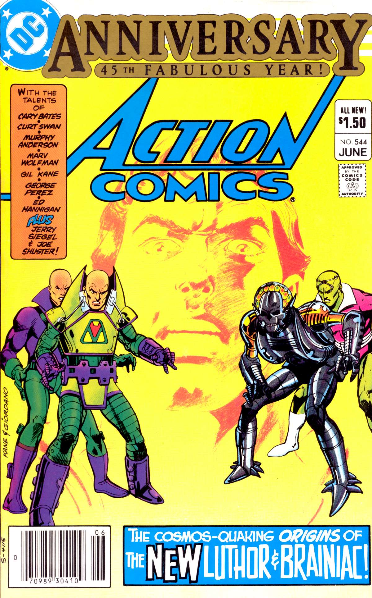 Action Comics (1938) 544 Page 1