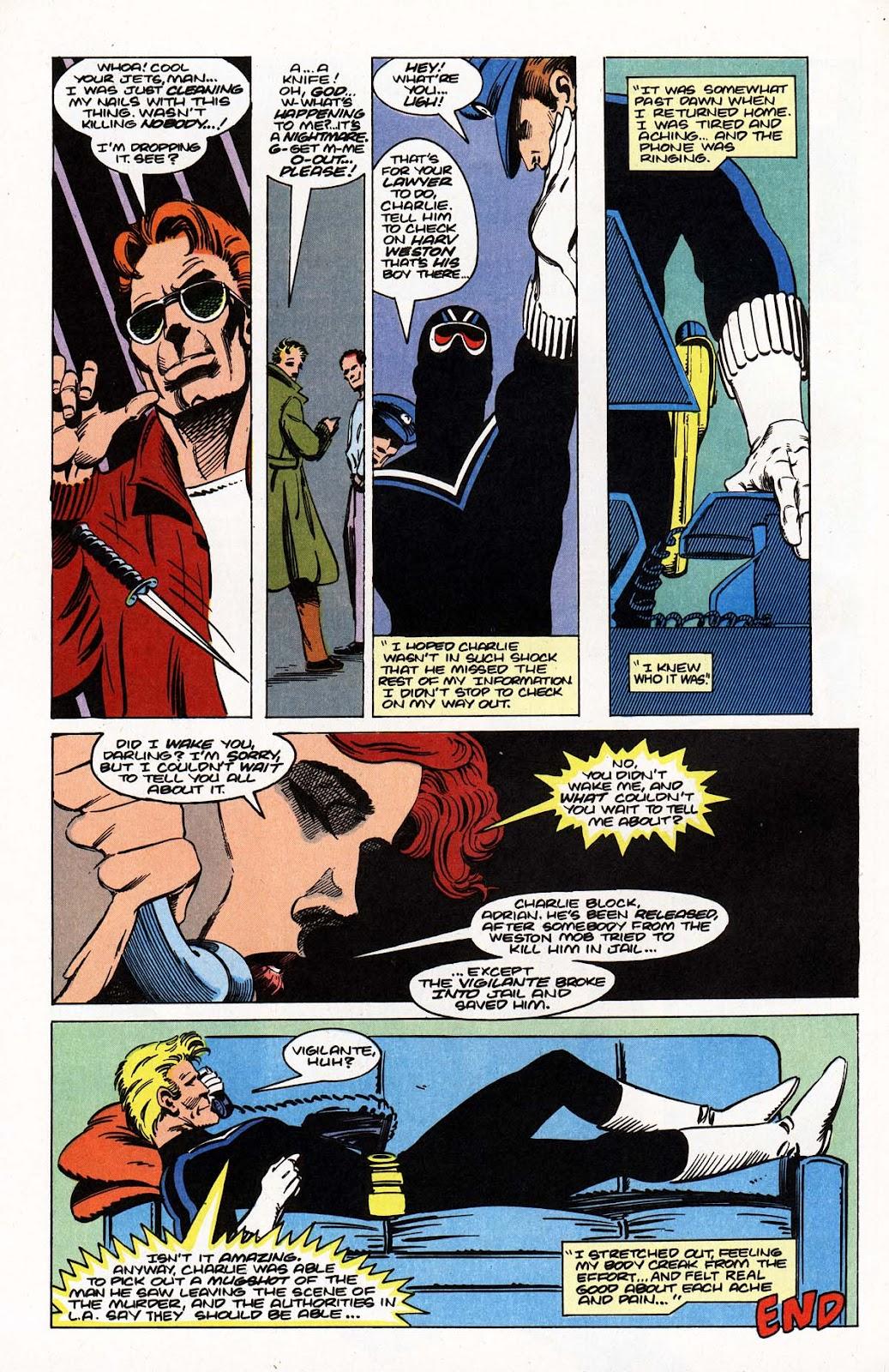 Vigilante (1983) issue Annual 1 - Page 42