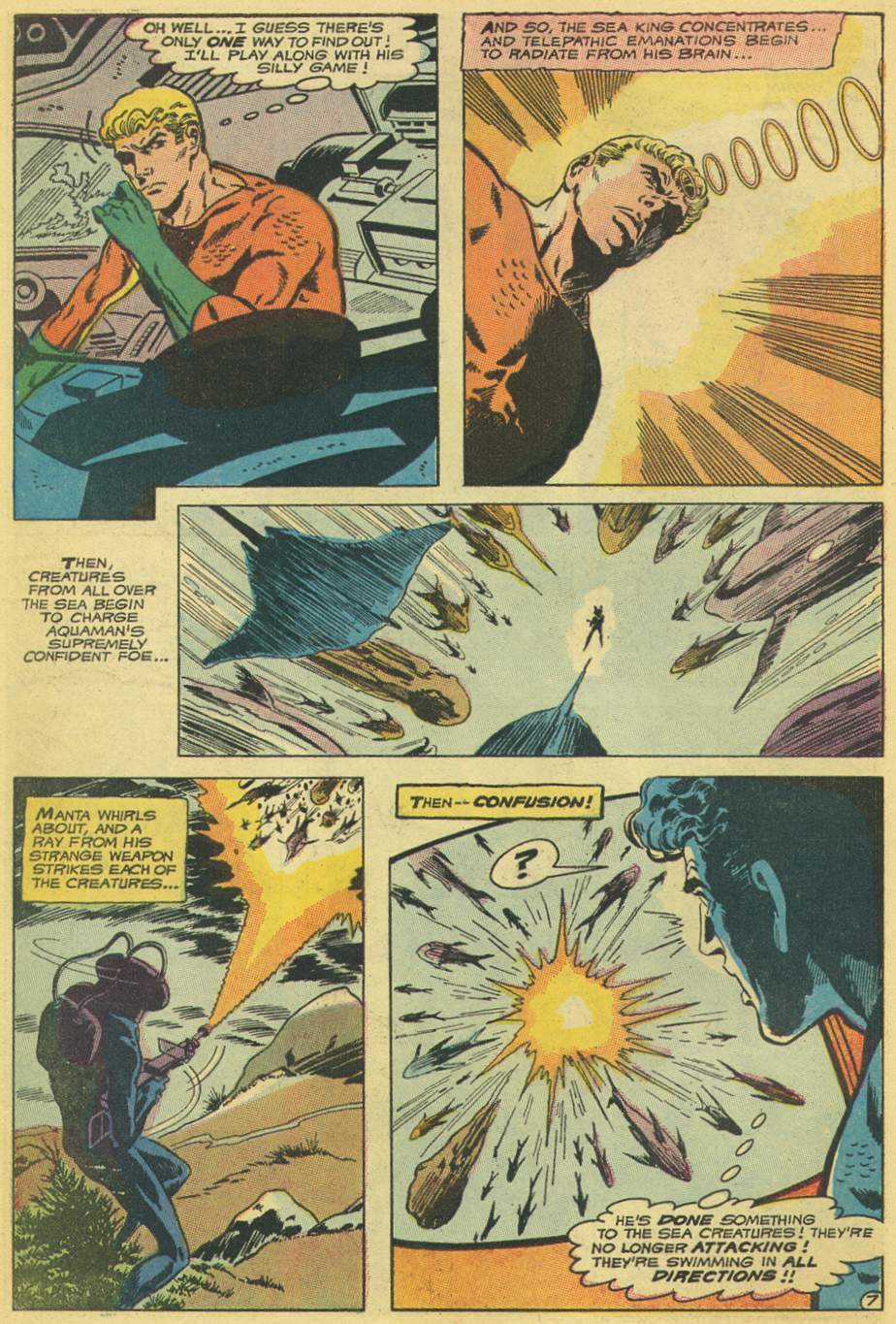 Read online Aquaman (1962) comic -  Issue #53 - 10