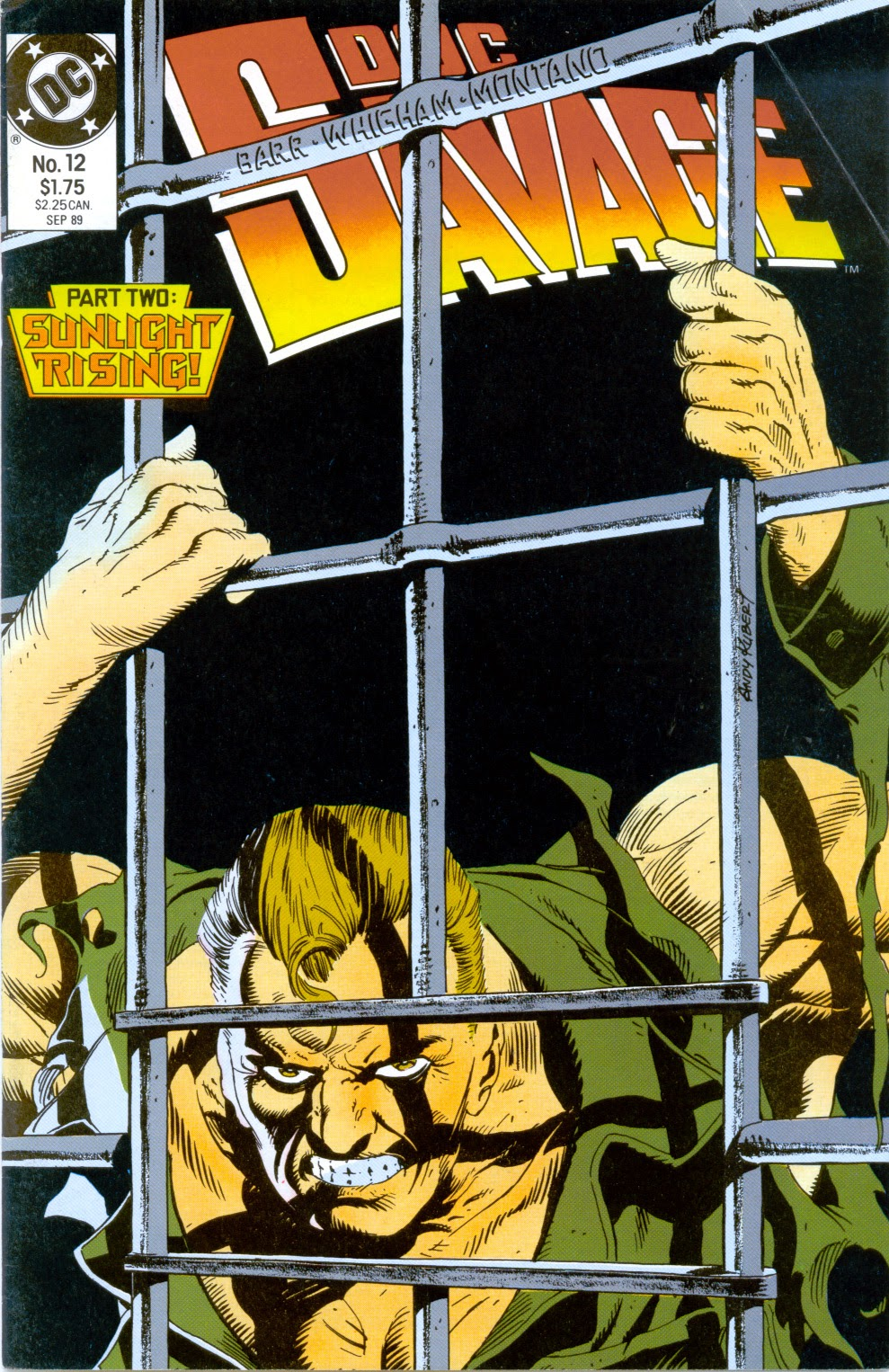 Doc Savage (1988) issue 12 - Page 1