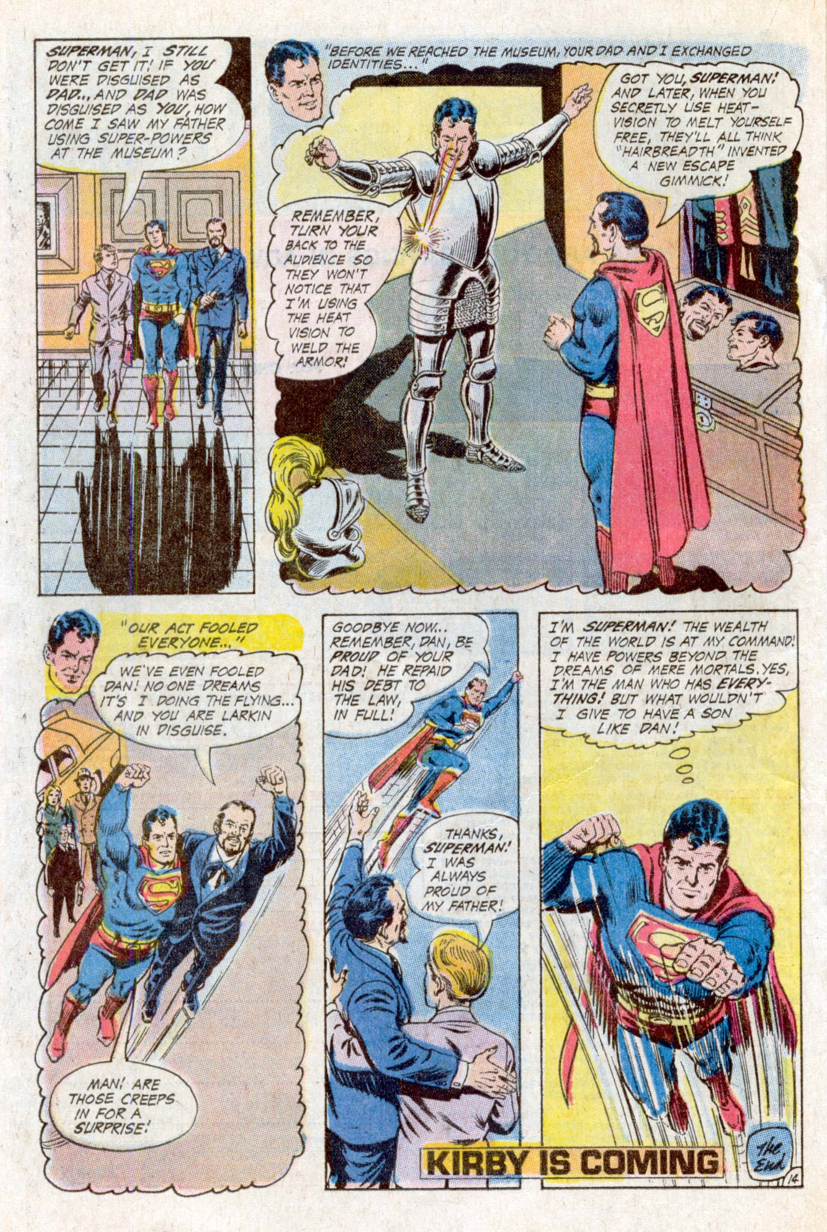 Read online Action Comics (1938) comic -  Issue #393 - 21