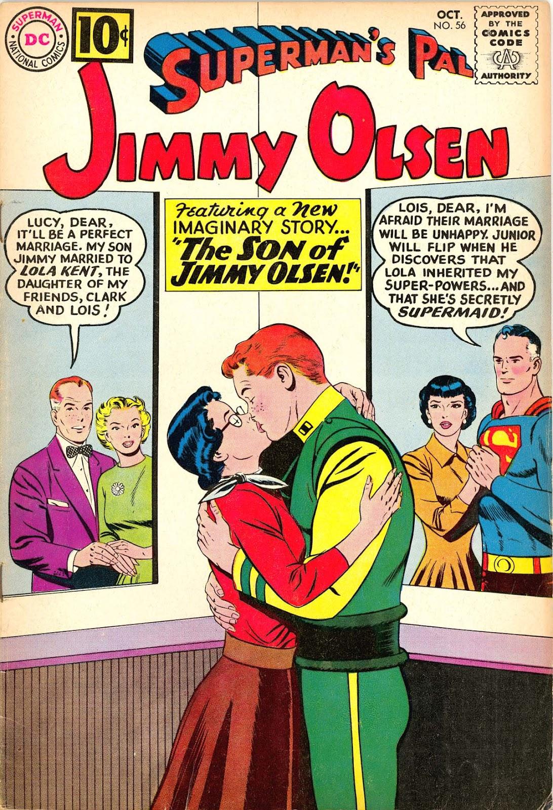 Supermans Pal Jimmy Olsen (1954) 56 Page 1