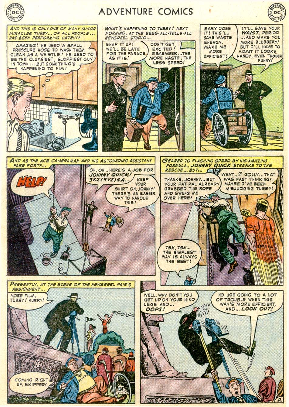Read online Adventure Comics (1938) comic -  Issue #174 - 26