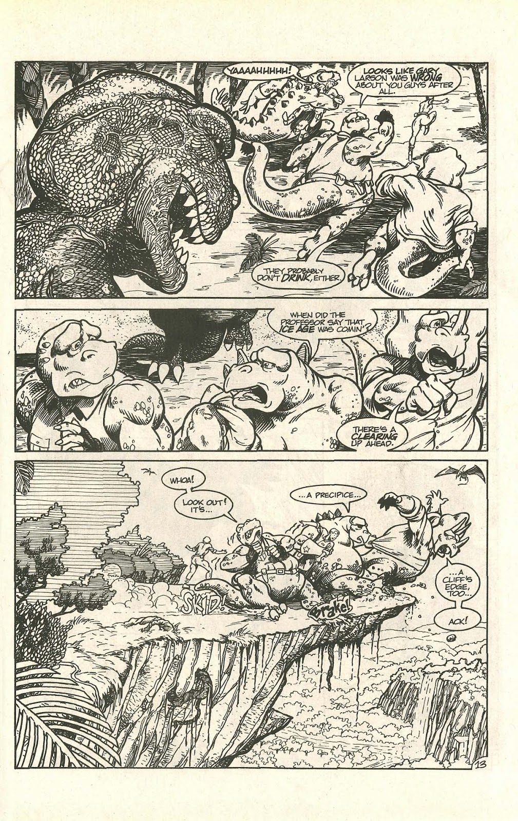 Dinosaurs For Hire (1988) issue 9 - Page 17