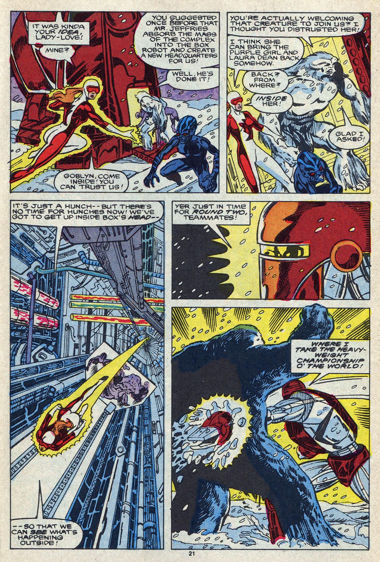 Read online Alpha Flight (1983) comic -  Issue #55 - 30