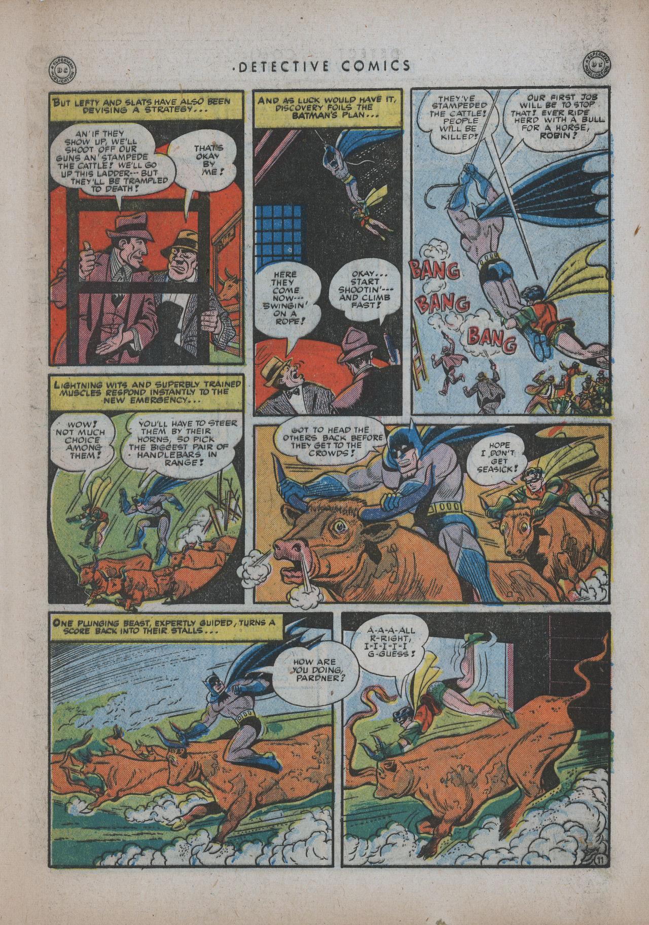 Read online Detective Comics (1937) comic -  Issue #94 - 13