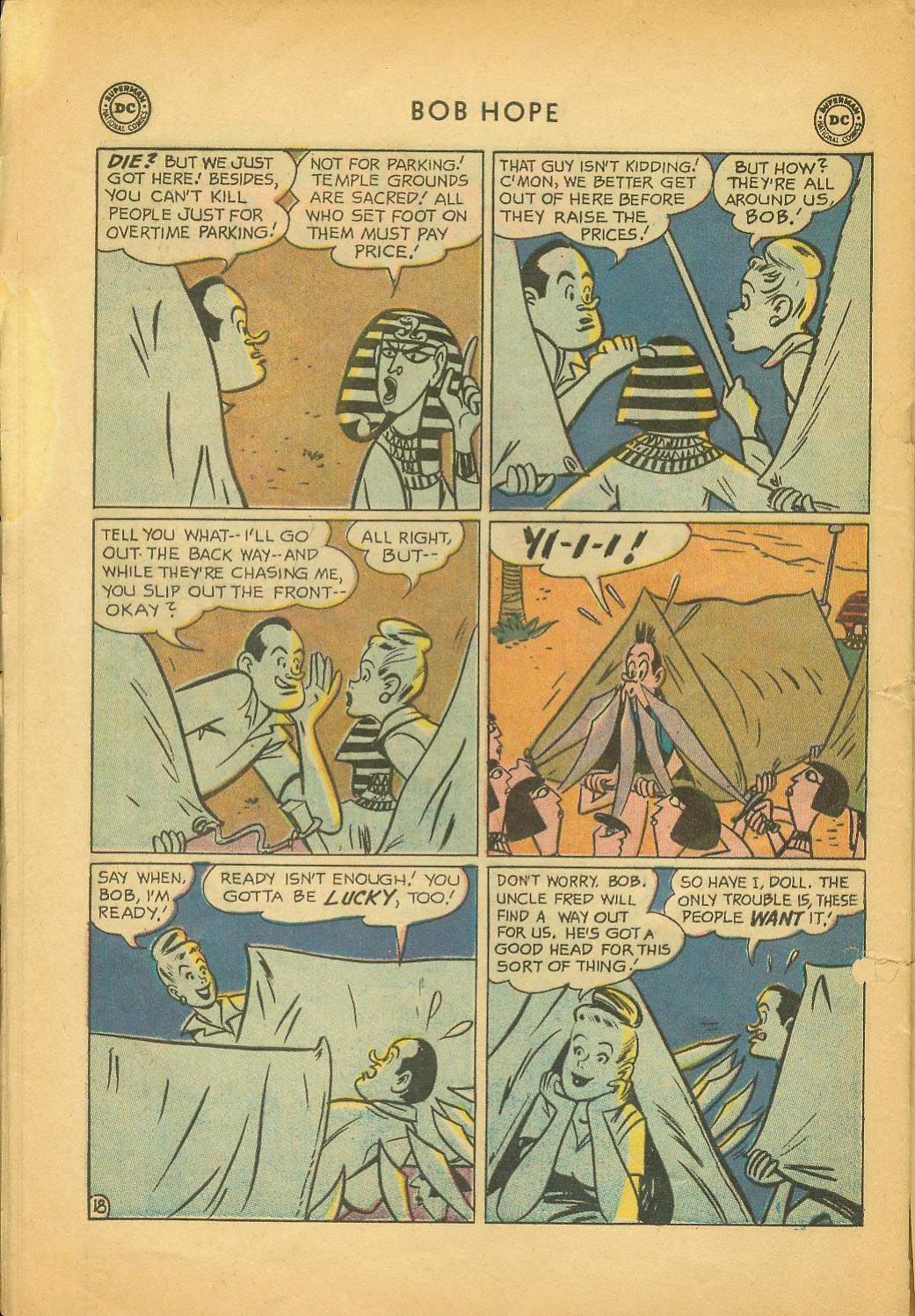 The Adventures of Bob Hope issue 64 - Page 24