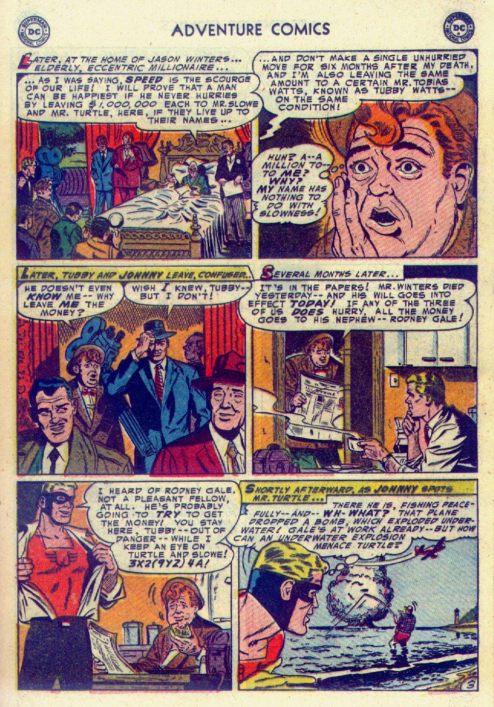 Read online Adventure Comics (1938) comic -  Issue #201 - 27
