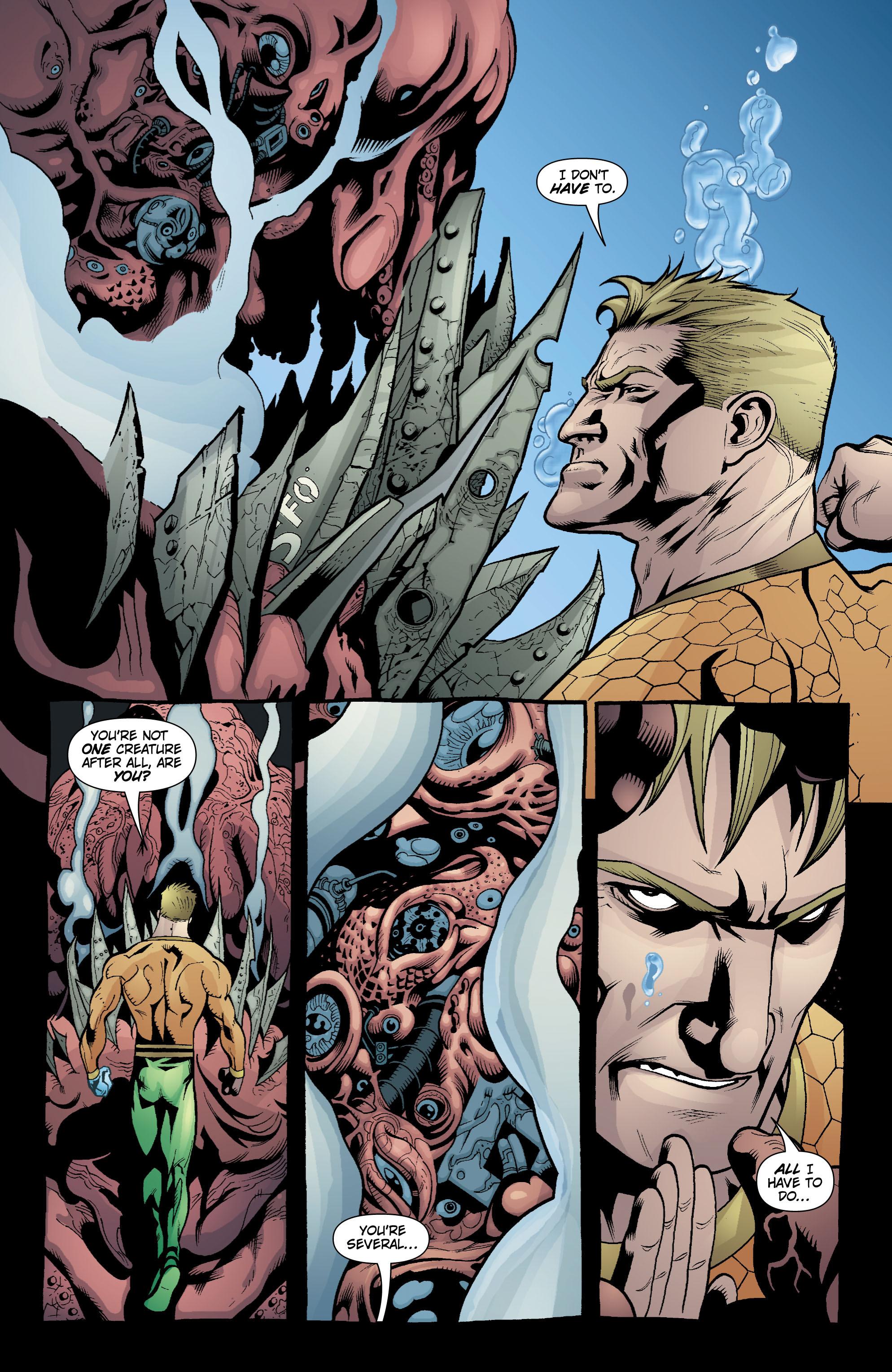 Read online Aquaman (2003) comic -  Issue #18 - 11
