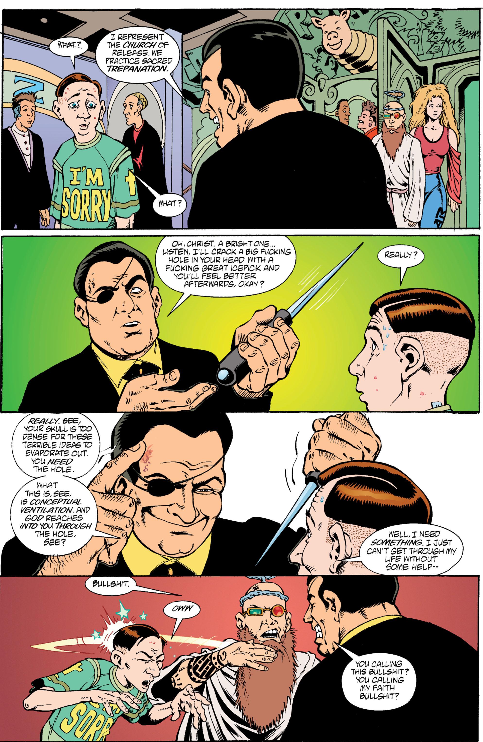 Read online Transmetropolitan comic -  Issue #6 - 19