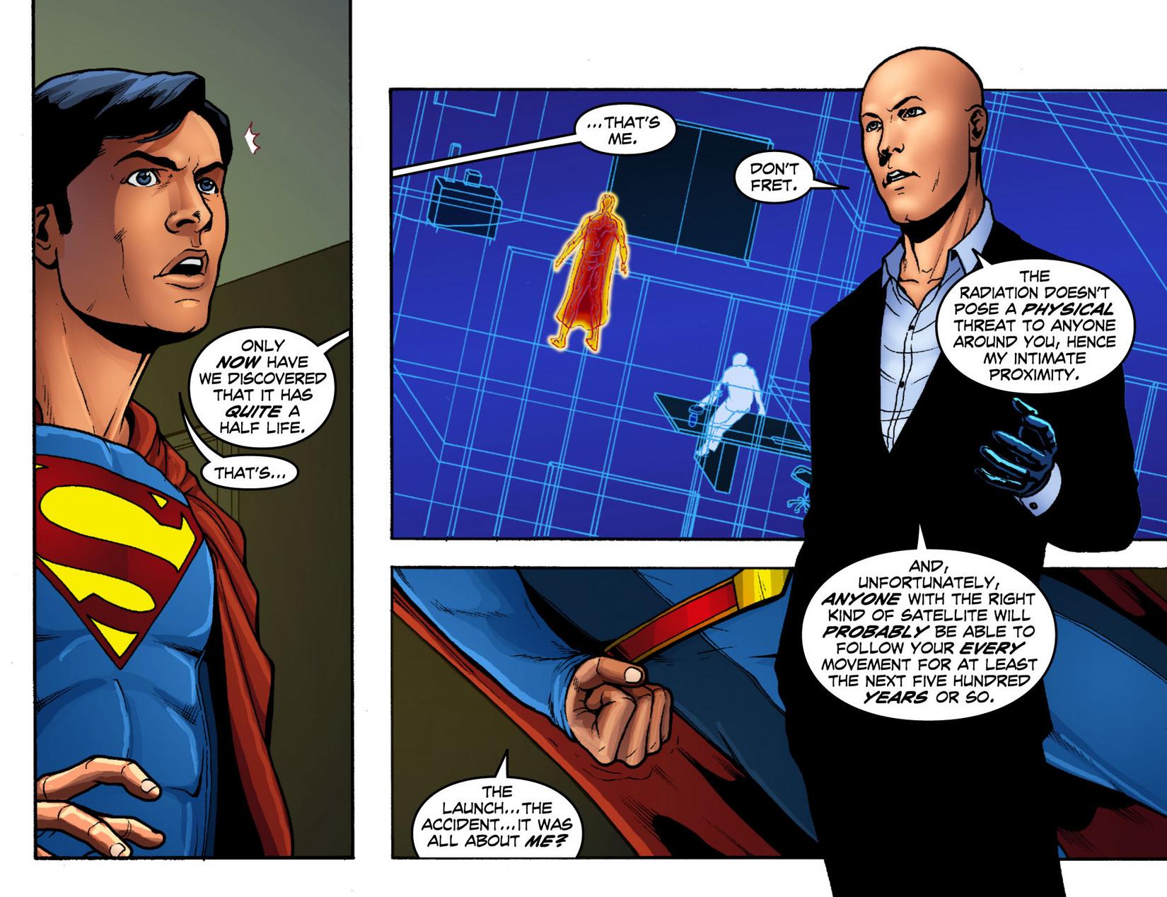 Read online Smallville: Season 11 comic -  Issue #12 - 7