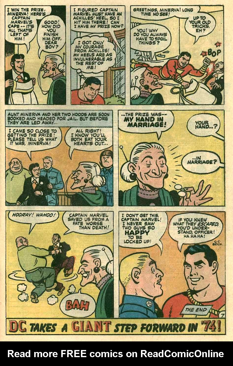 Read online Shazam! (1973) comic -  Issue #10 - 21
