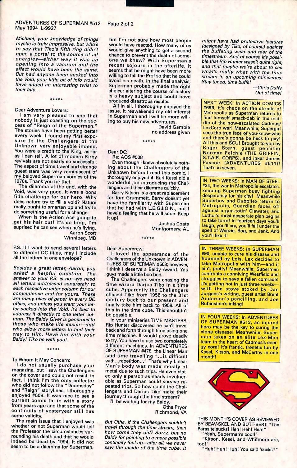 Read online Adventures of Superman (1987) comic -  Issue #512 - 25