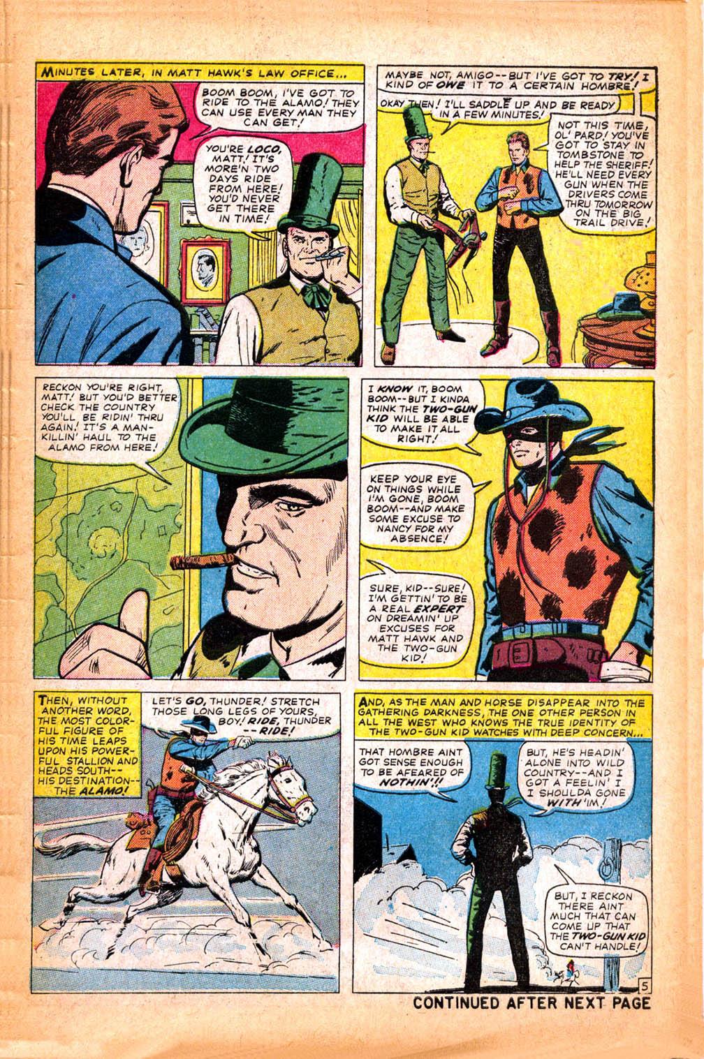 Read online Two-Gun Kid comic -  Issue #75 - 7