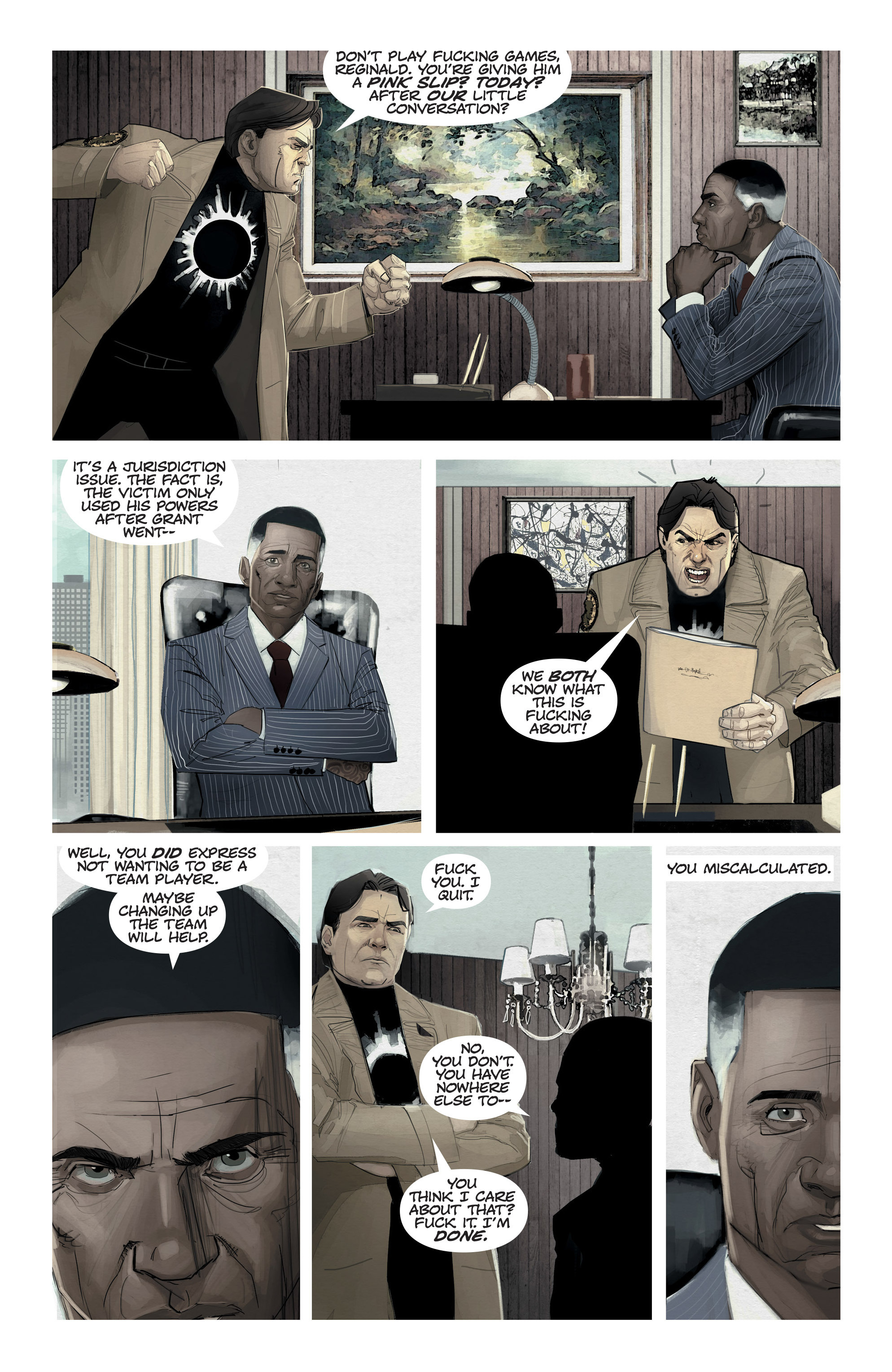 Read online C.O.W.L. comic -  Issue #11 - 11