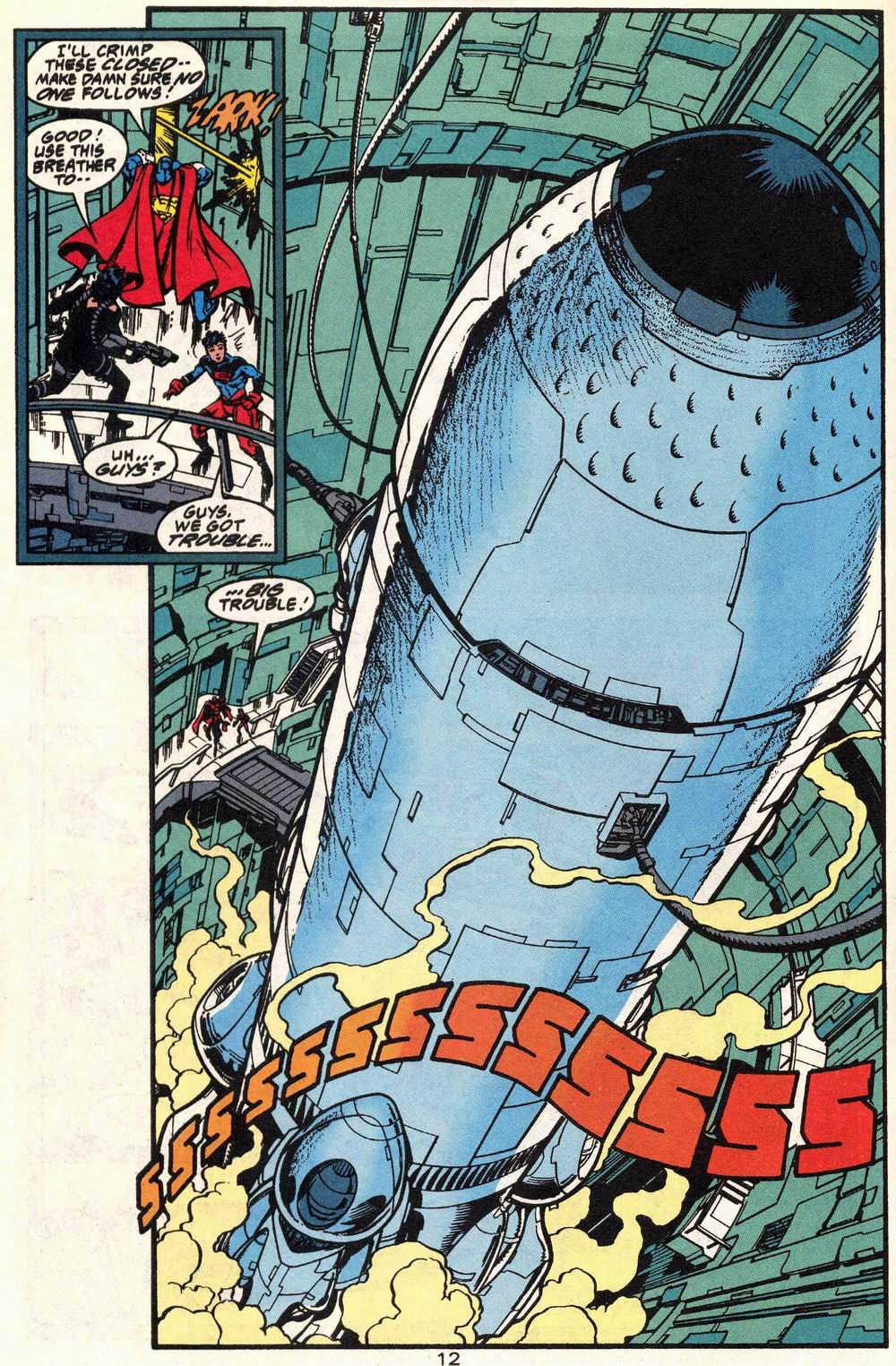 Read online Adventures of Superman (1987) comic -  Issue #504 - 13