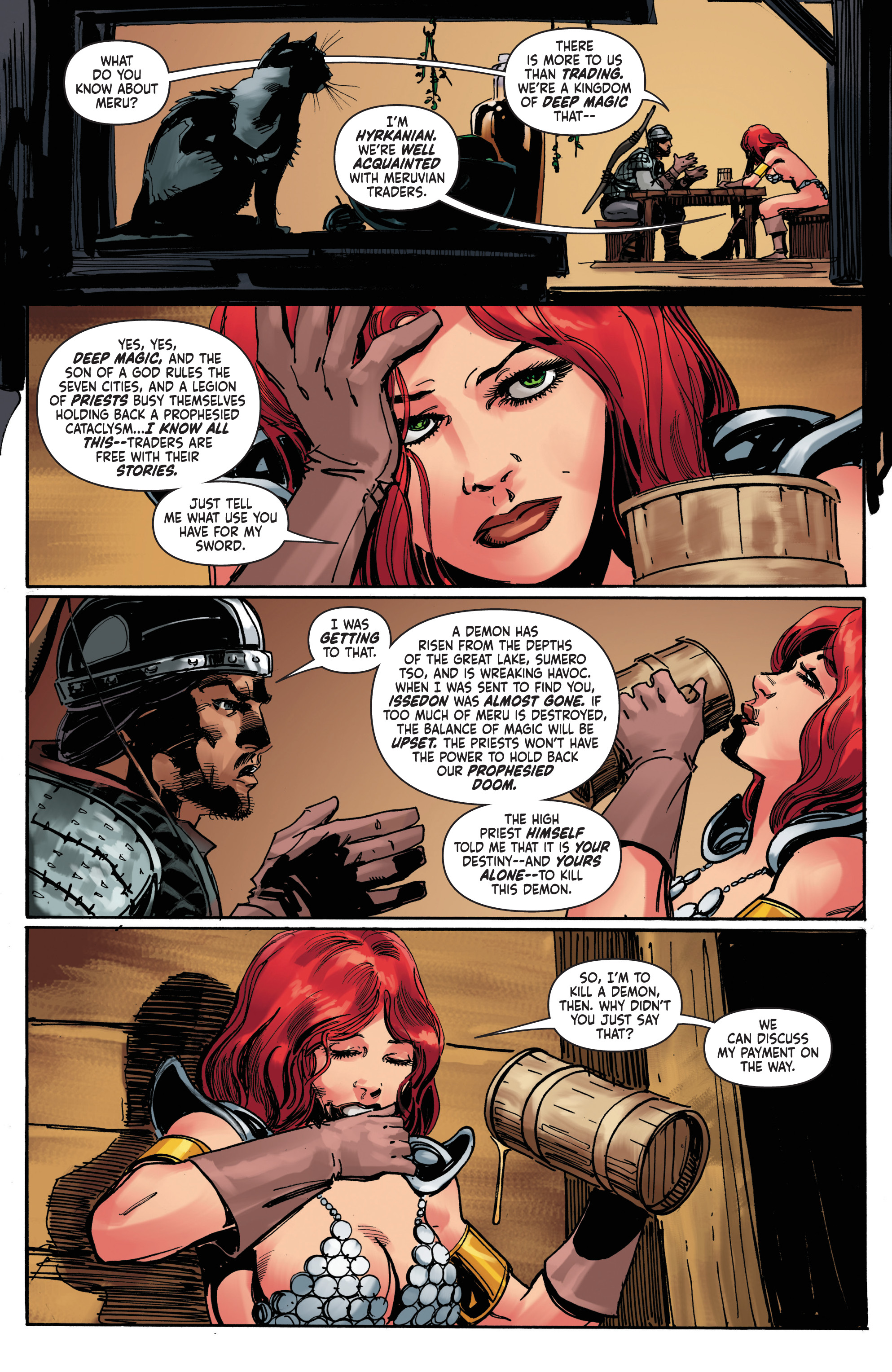 Read online Red Sonja: The Long Walk To Oblivion comic -  Issue # Full - 8