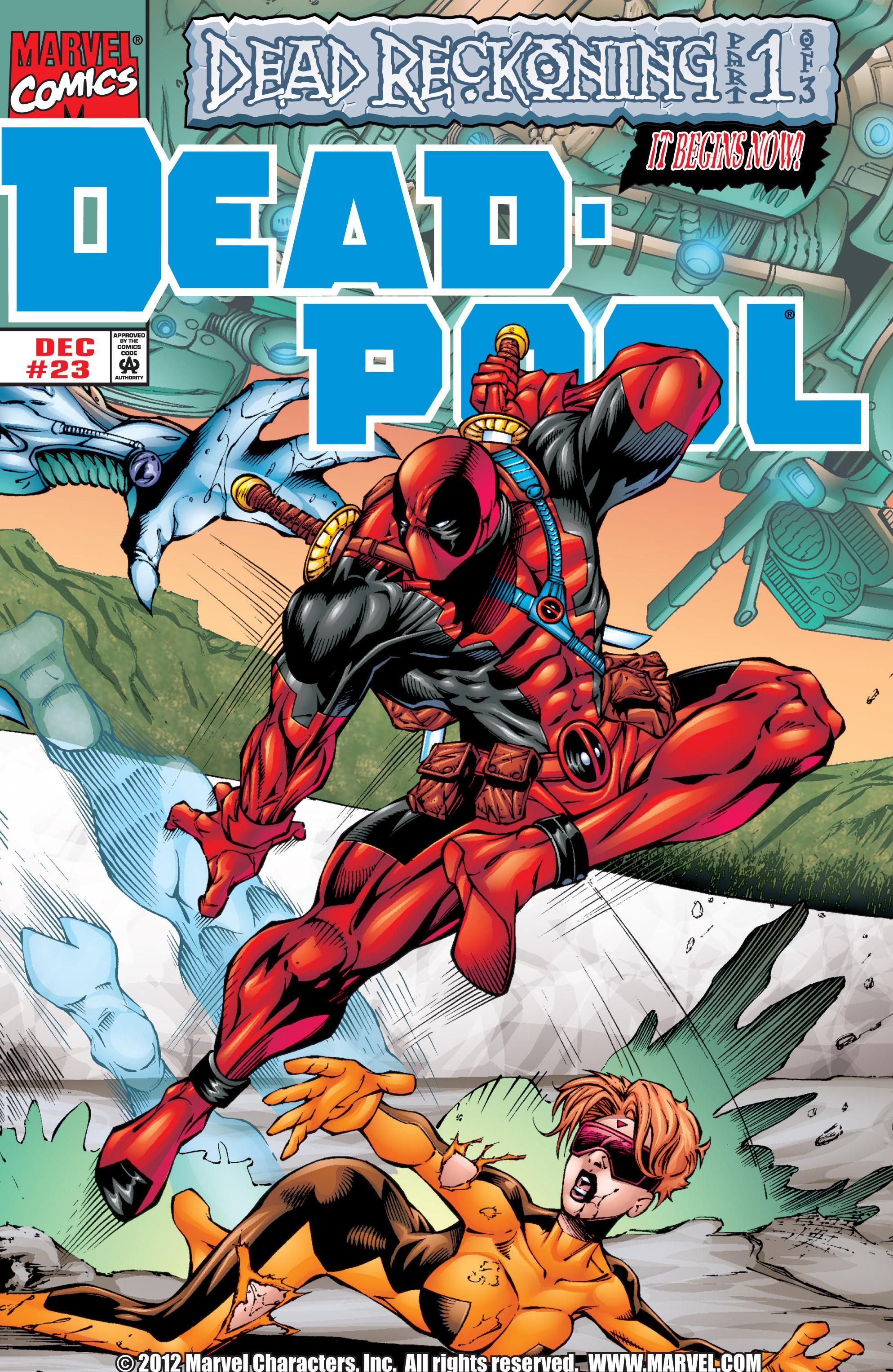 Deadpool (1997) 23 Page 1