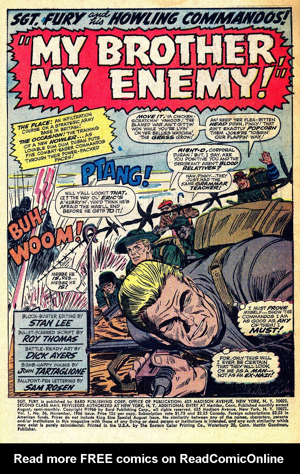 Read online Sgt. Fury comic -  Issue #36 - 3