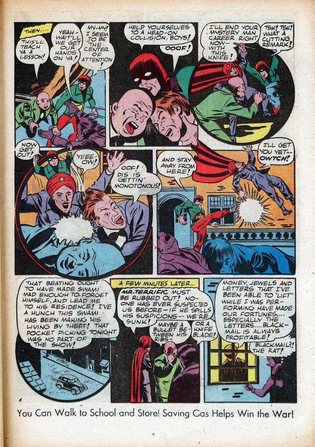 Read online Sensation (Mystery) Comics comic -  Issue #33 - 37