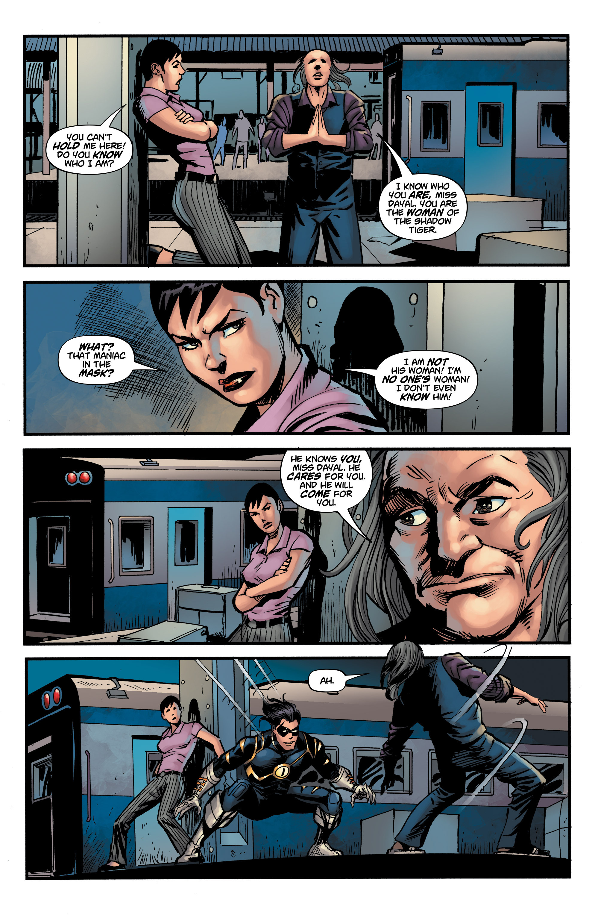Read online Shadow Tiger comic -  Issue #3 - 19