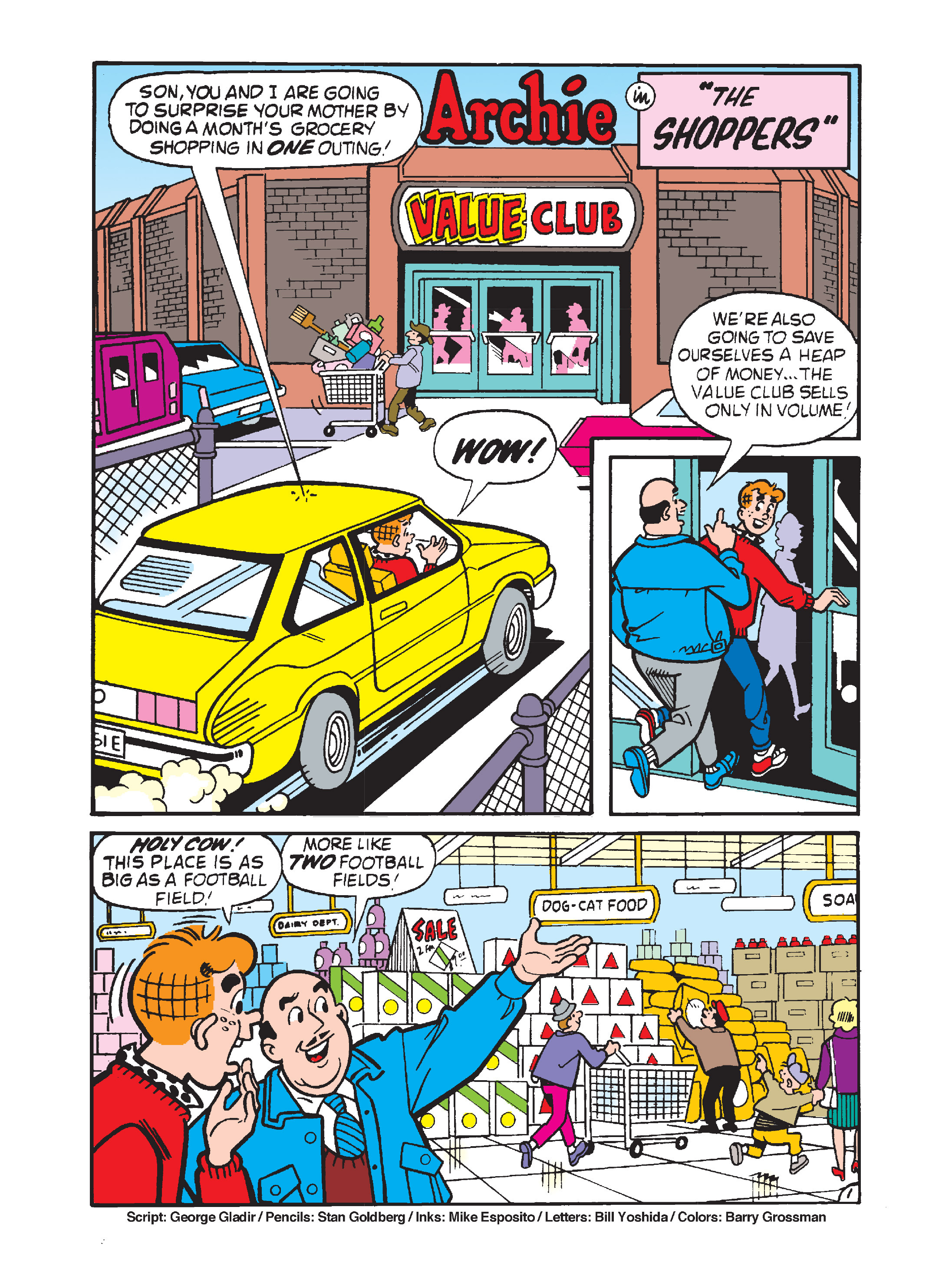 Read online Archie's Funhouse Double Digest comic -  Issue #10 - 111
