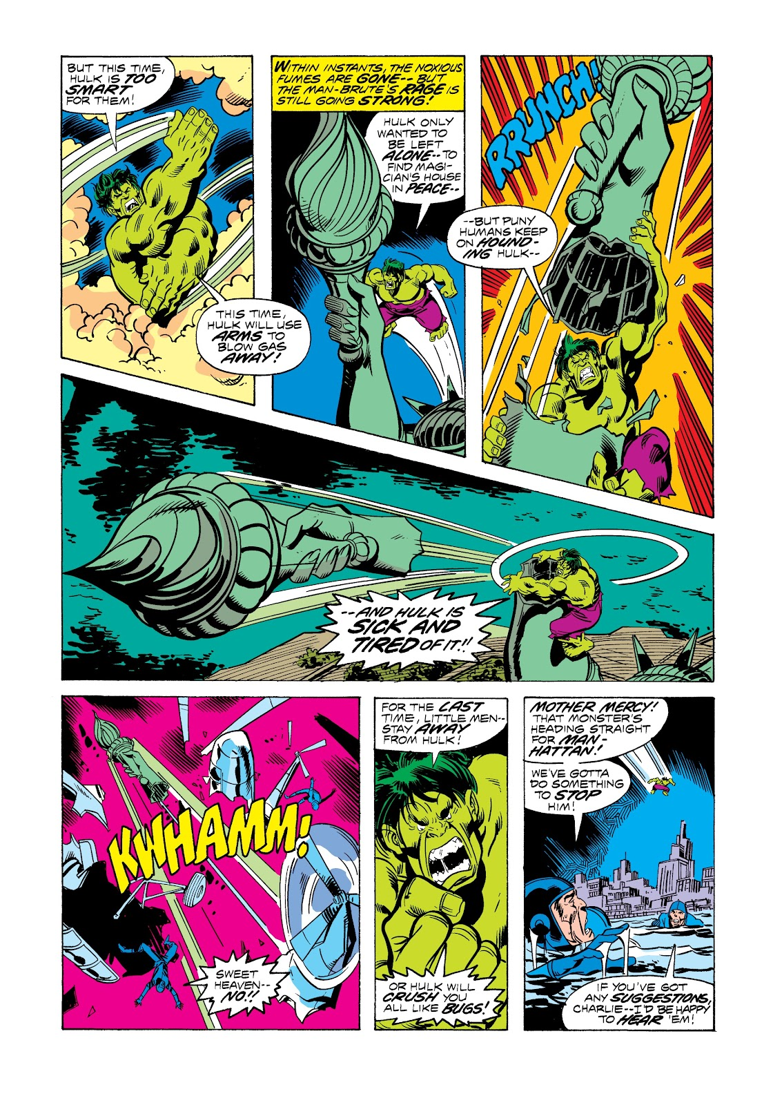 Read online Marvel Masterworks: The Incredible Hulk comic -  Issue # TPB 12 (Part 3) - 17