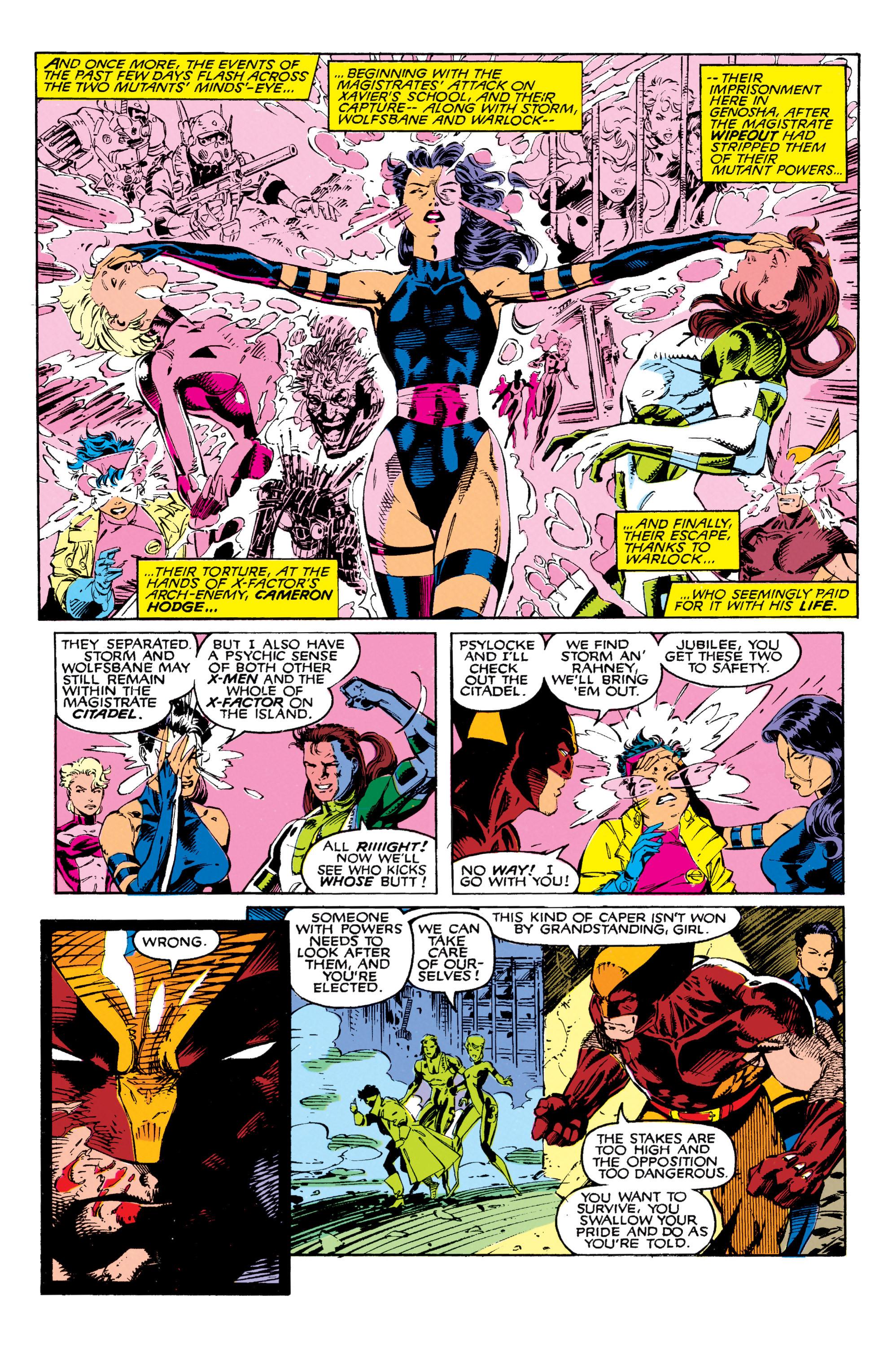 Read online Uncanny X-Men (1963) comic -  Issue #271 - 9