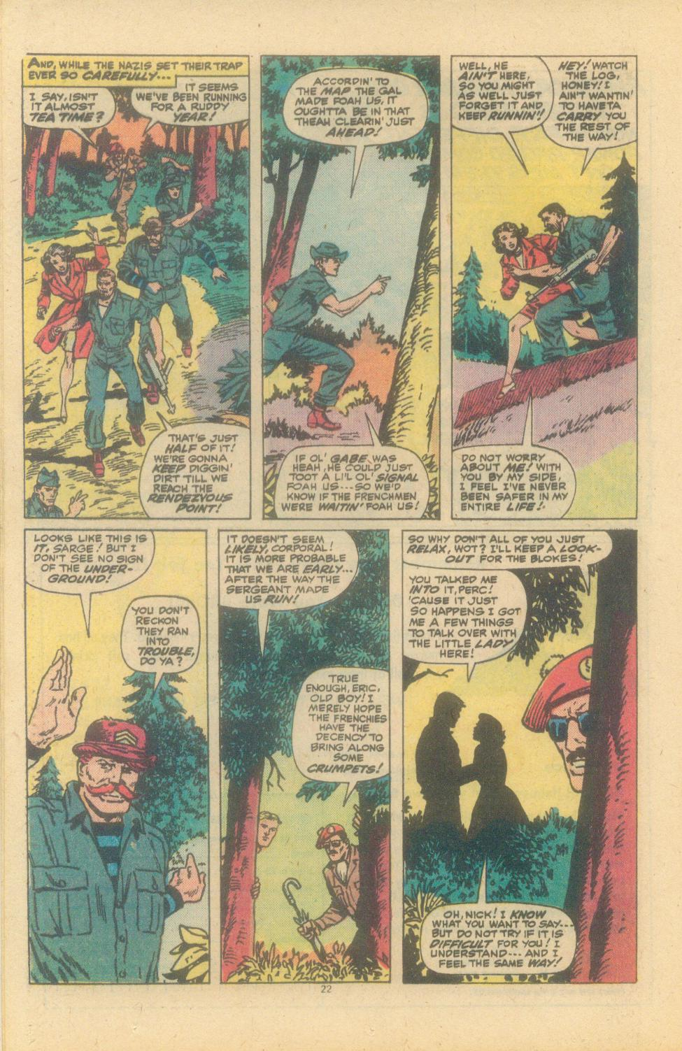 Read online Sgt. Fury comic -  Issue #150 - 24