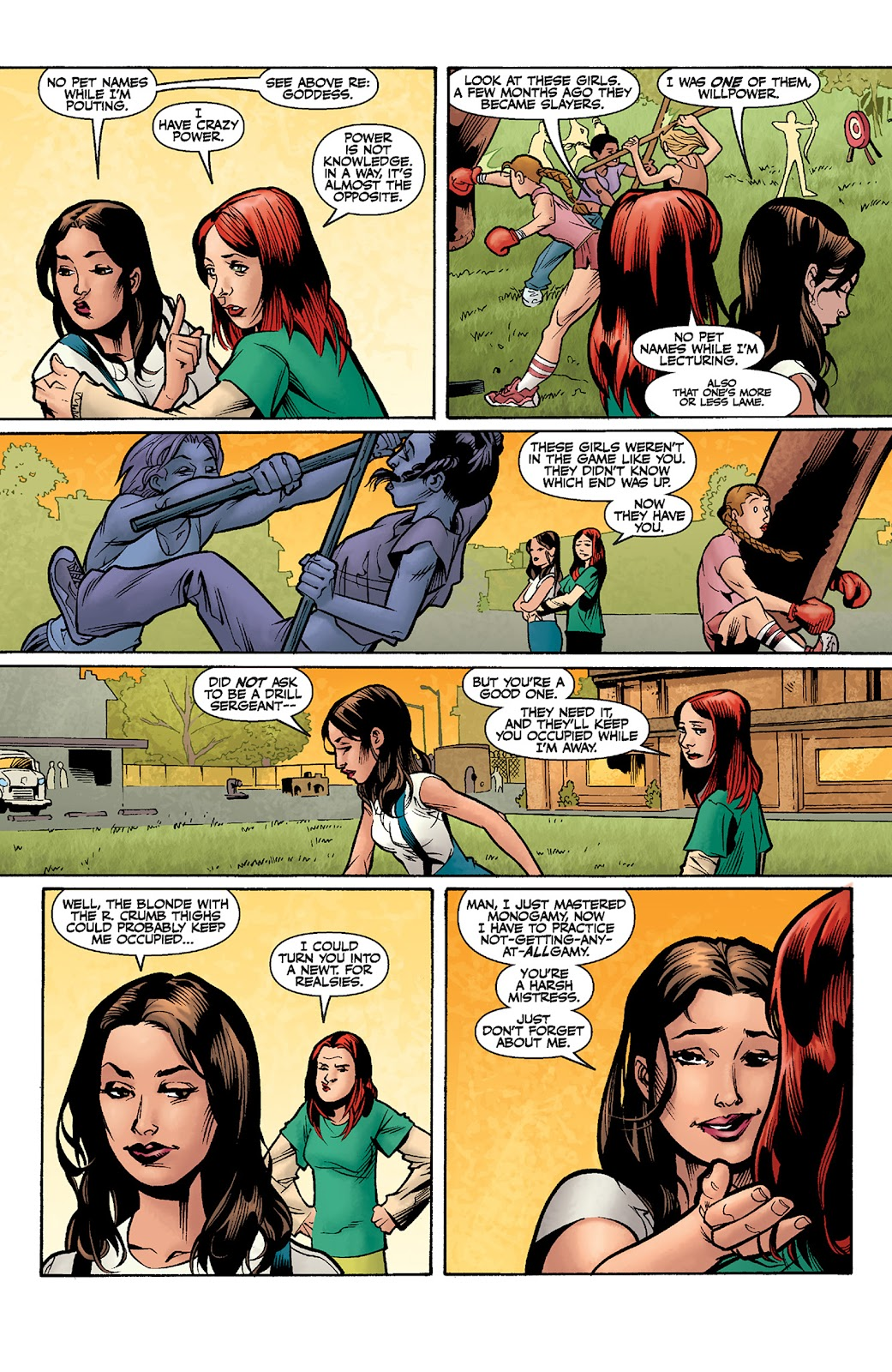 Read online Buffy the Vampire Slayer: Willow comic -  Issue # Full - 8