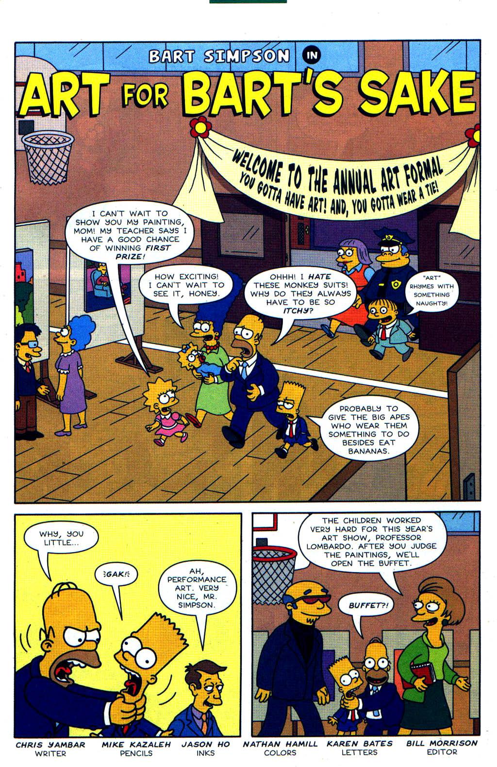 Read online Simpsons Comics Presents Bart Simpson comic -  Issue #19 - 10
