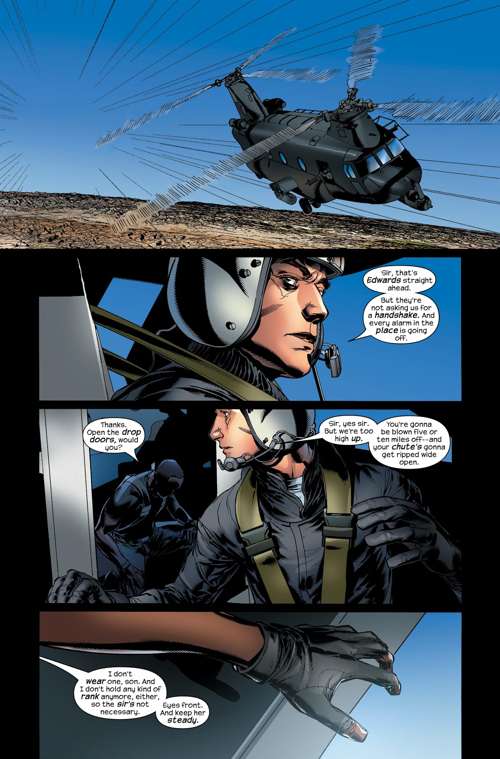Read online Ultimate Vision comic -  Issue #4 - 24