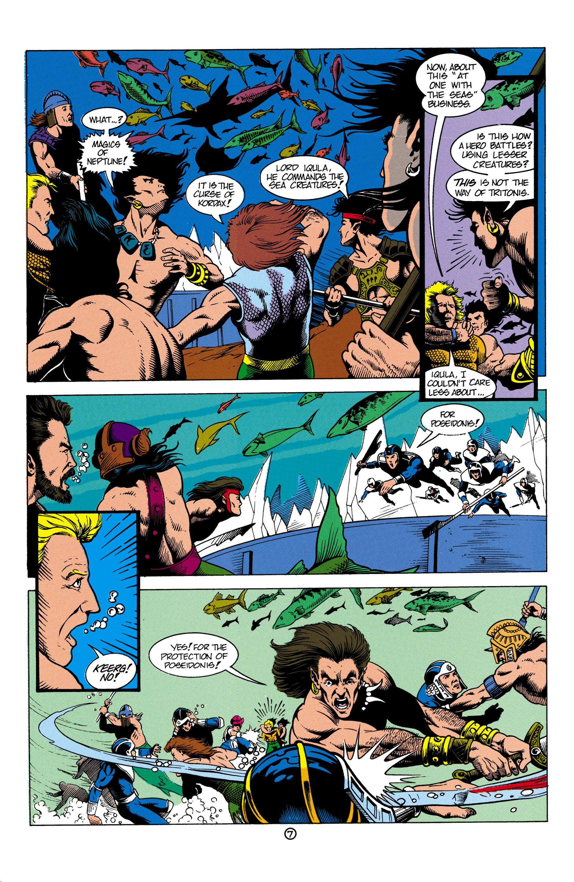Read online Aquaman (1991) comic -  Issue #4 - 8