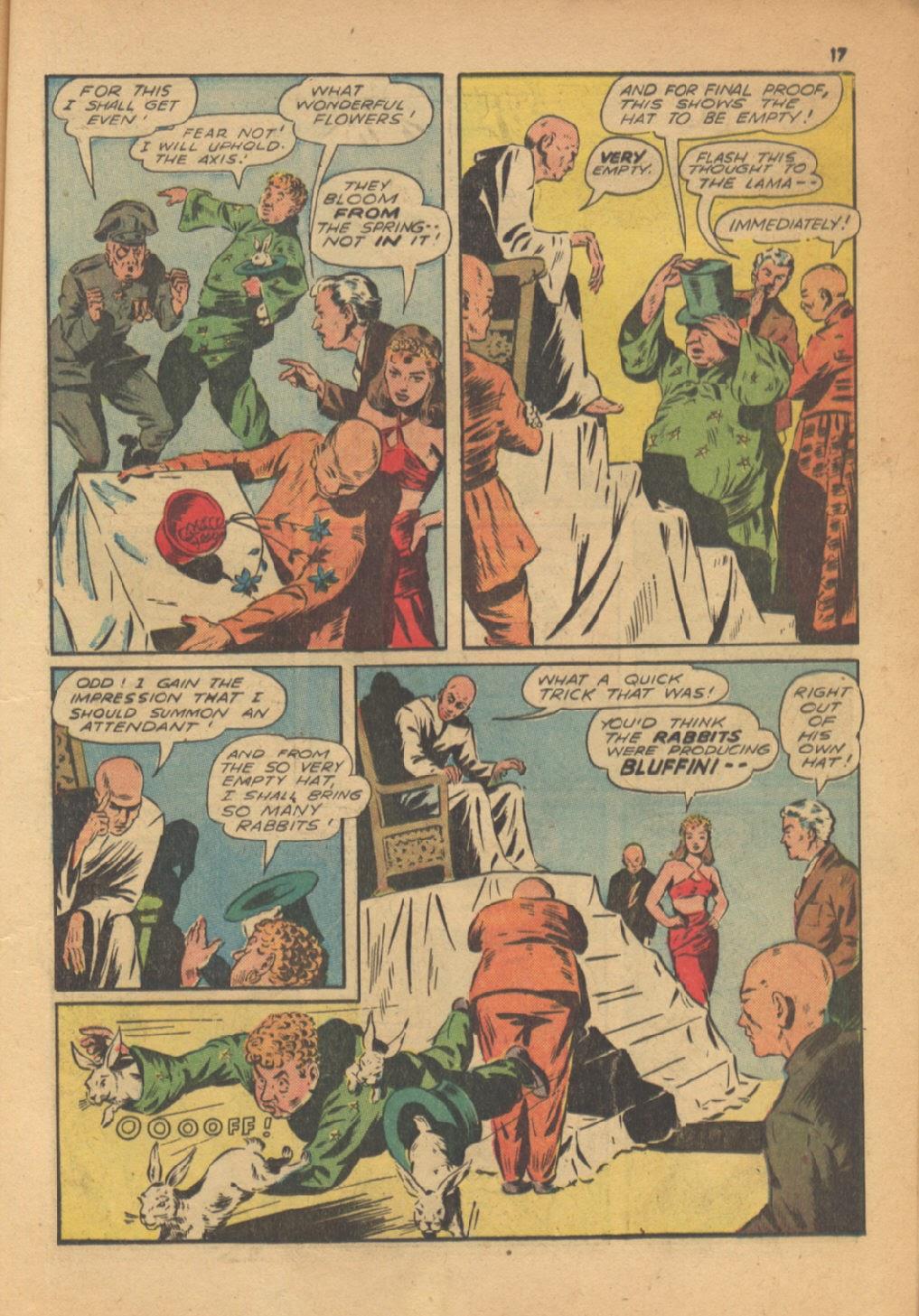 Read online Super-Magician Comics comic -  Issue #13 - 17