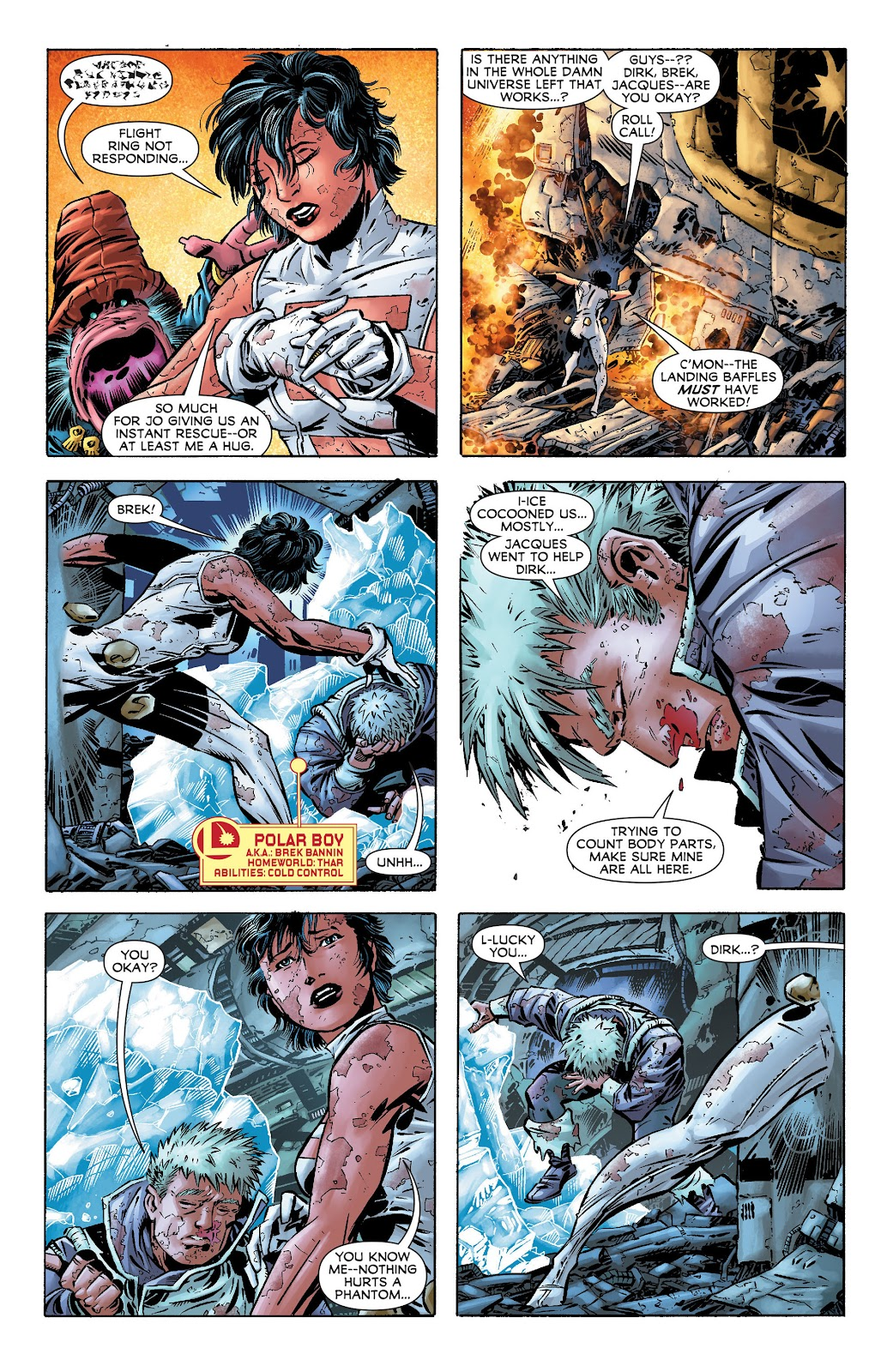 Legion of Super-Heroes (2011) Issue #17 #18 - English 4